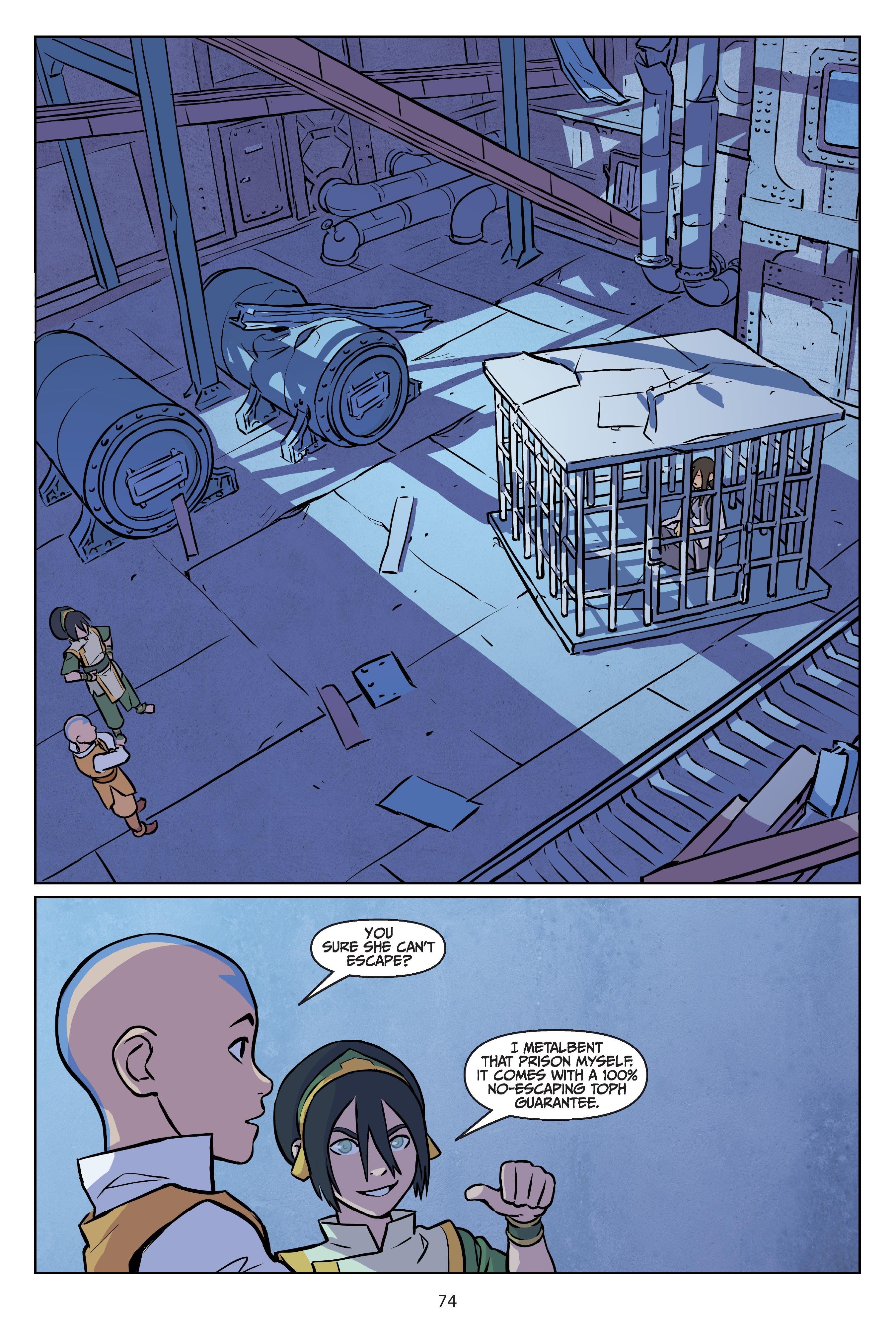 Nickelodeon Avatar: The Last Airbender - Imbalance TPB_2 Page 74