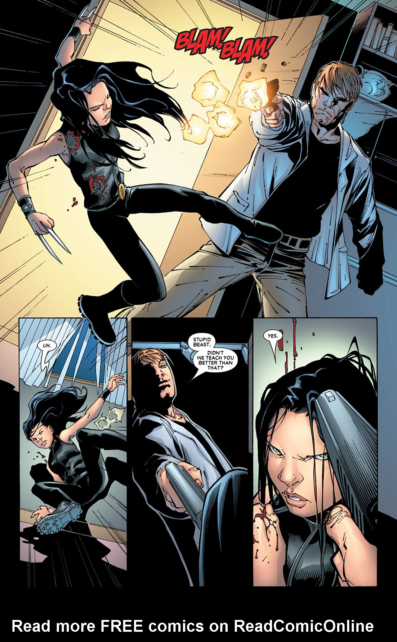 Read online X-23 (2005) comic -  Issue #6 - 13