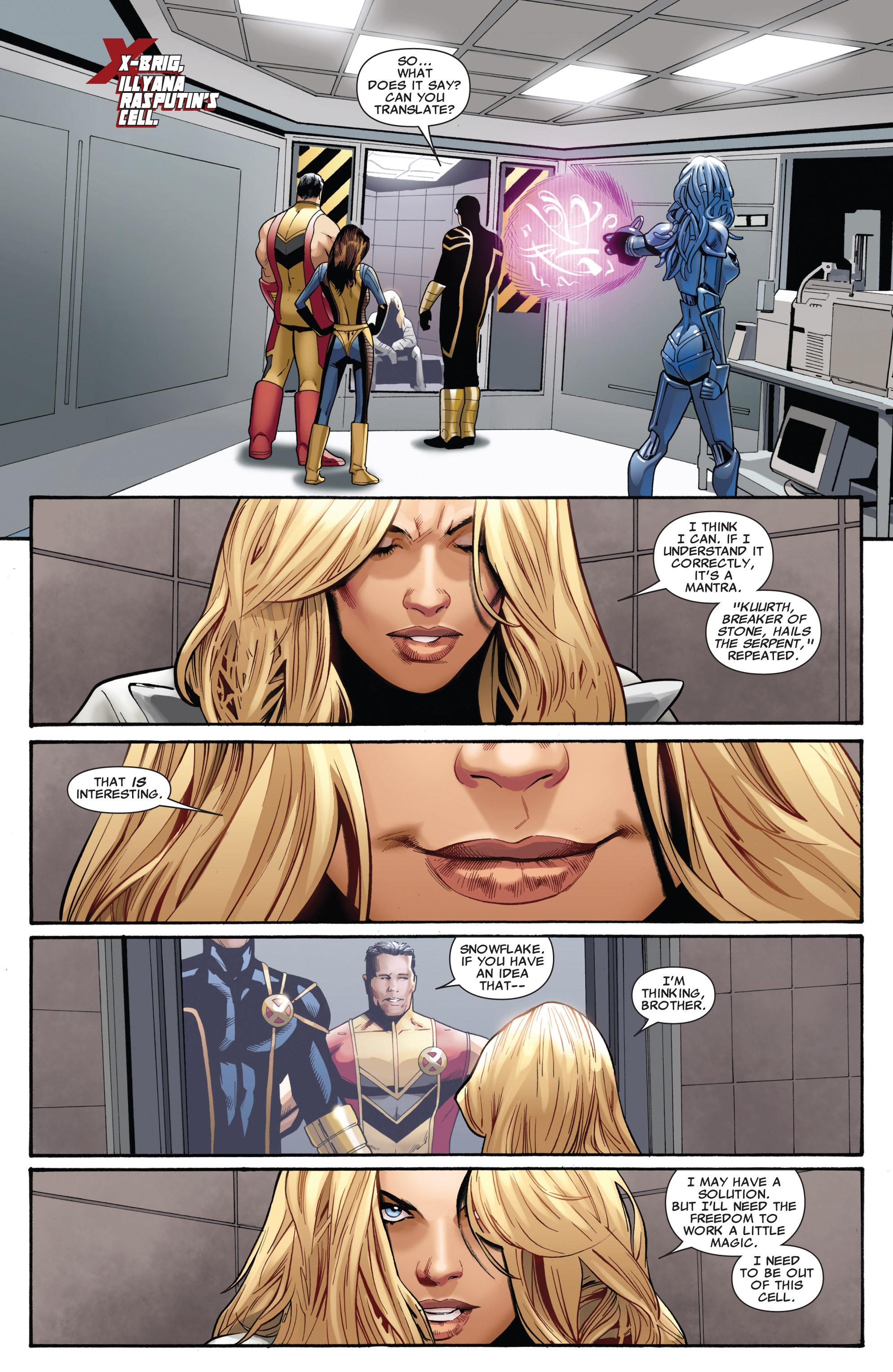 Read online Uncanny X-Men (1963) comic -  Issue #542 - 9