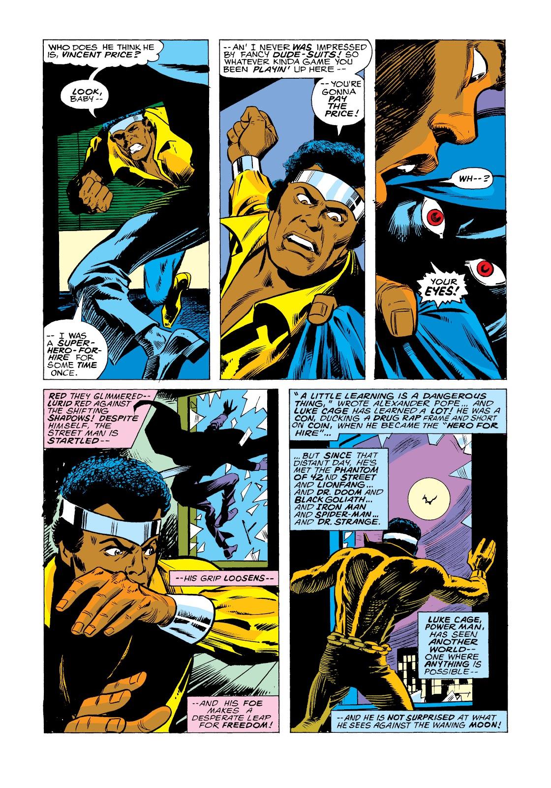 Read online Marvel Masterworks: Luke Cage, Power Man comic -  Issue # TPB 2 (Part 2) - 85