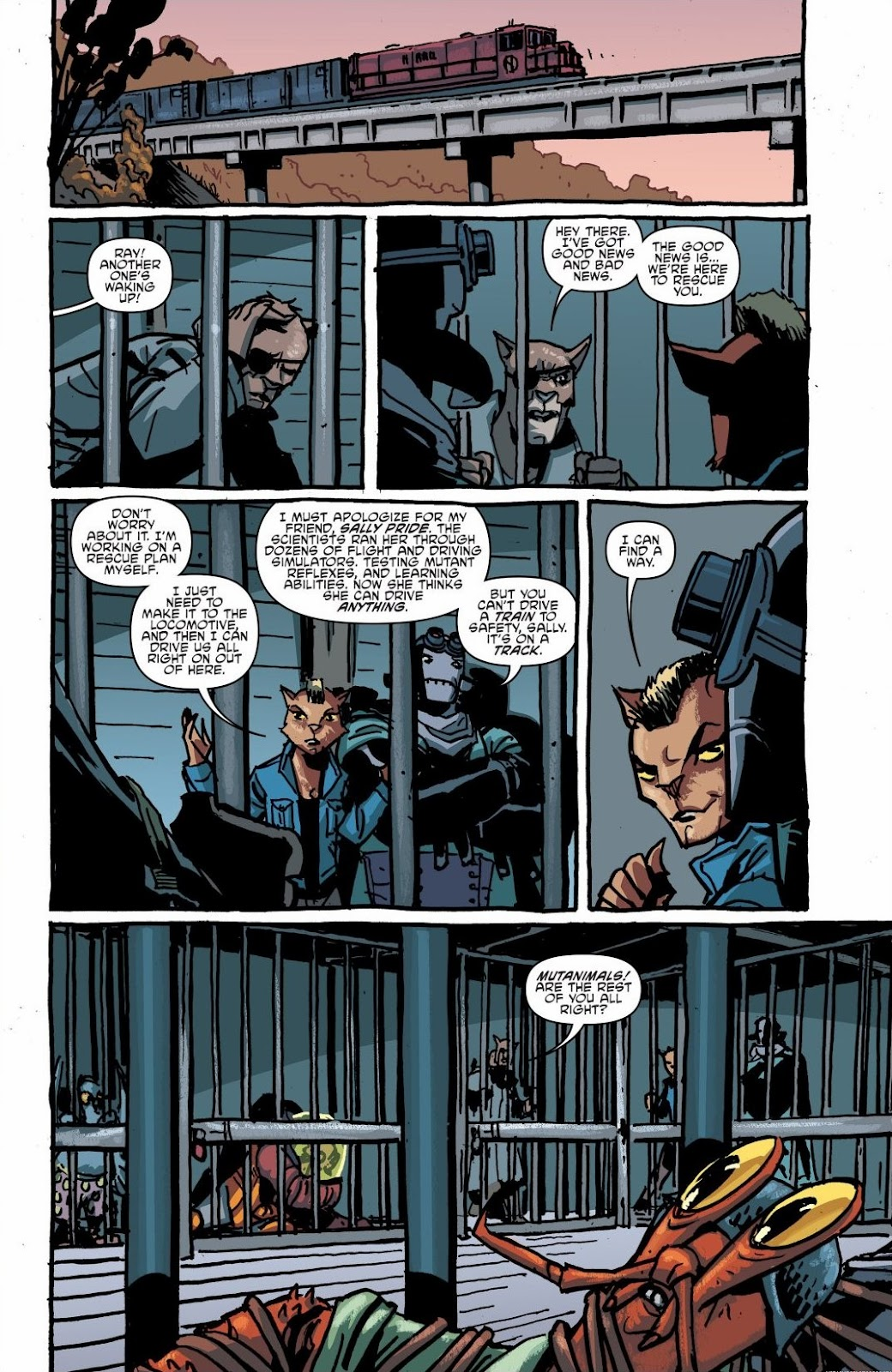 Read online Teenage Mutant Ninja Turtles: The IDW Collection comic -  Issue # TPB 6 (Part 1) - 55
