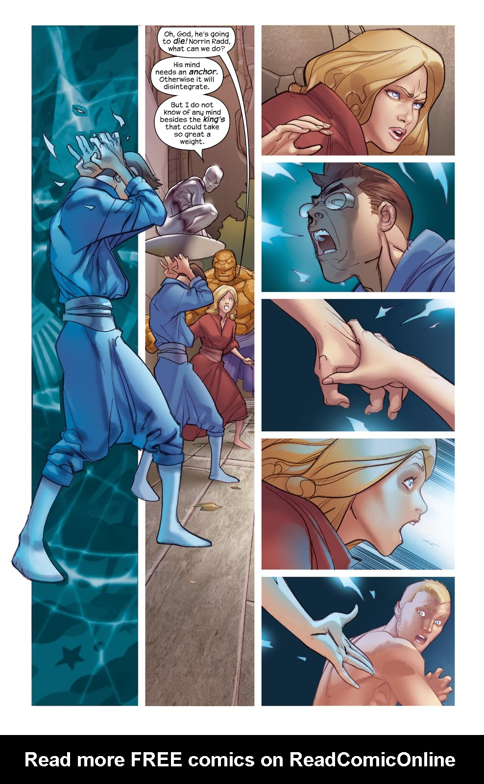 Read online Ultimate Fantastic Four (2004) comic -  Issue #46 - 20