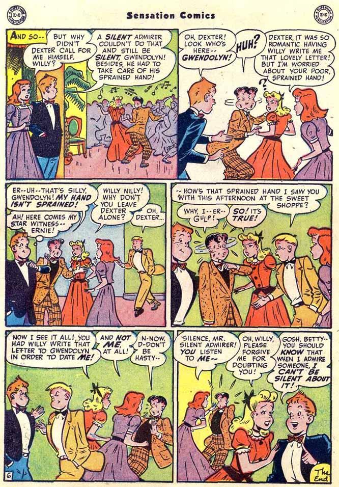 Read online Sensation (Mystery) Comics comic -  Issue #89 - 32