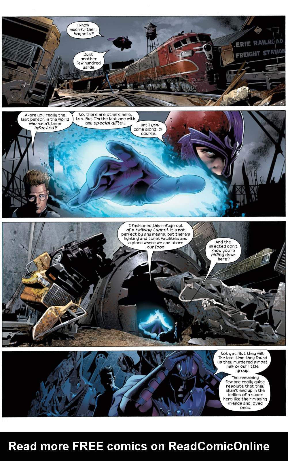 Read online Ultimate Fantastic Four (2004) comic -  Issue #22 - 18