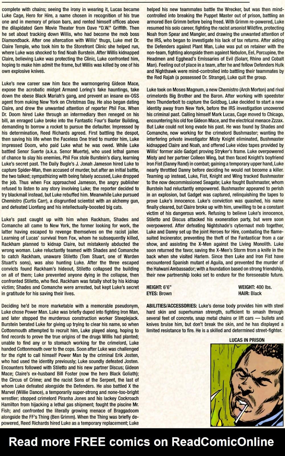 Read online Marvel Legacy: The 1970's Handbook comic -  Issue # Full - 47