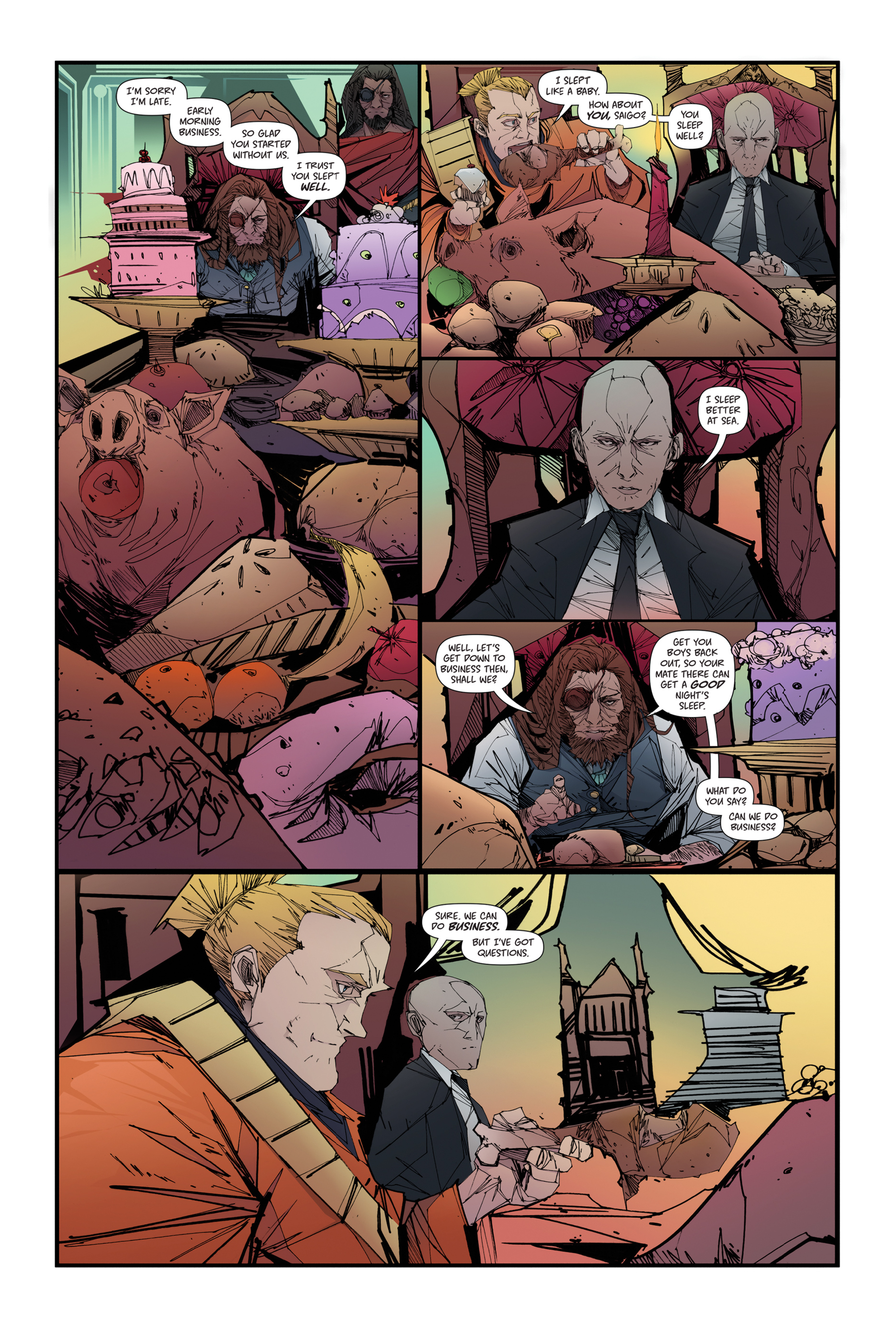 Read online Scrimshaw comic -  Issue #4 - 6