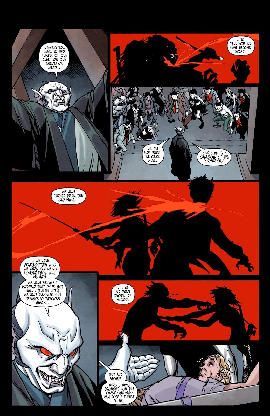 Read online Shinku comic -  Issue #5 - 11