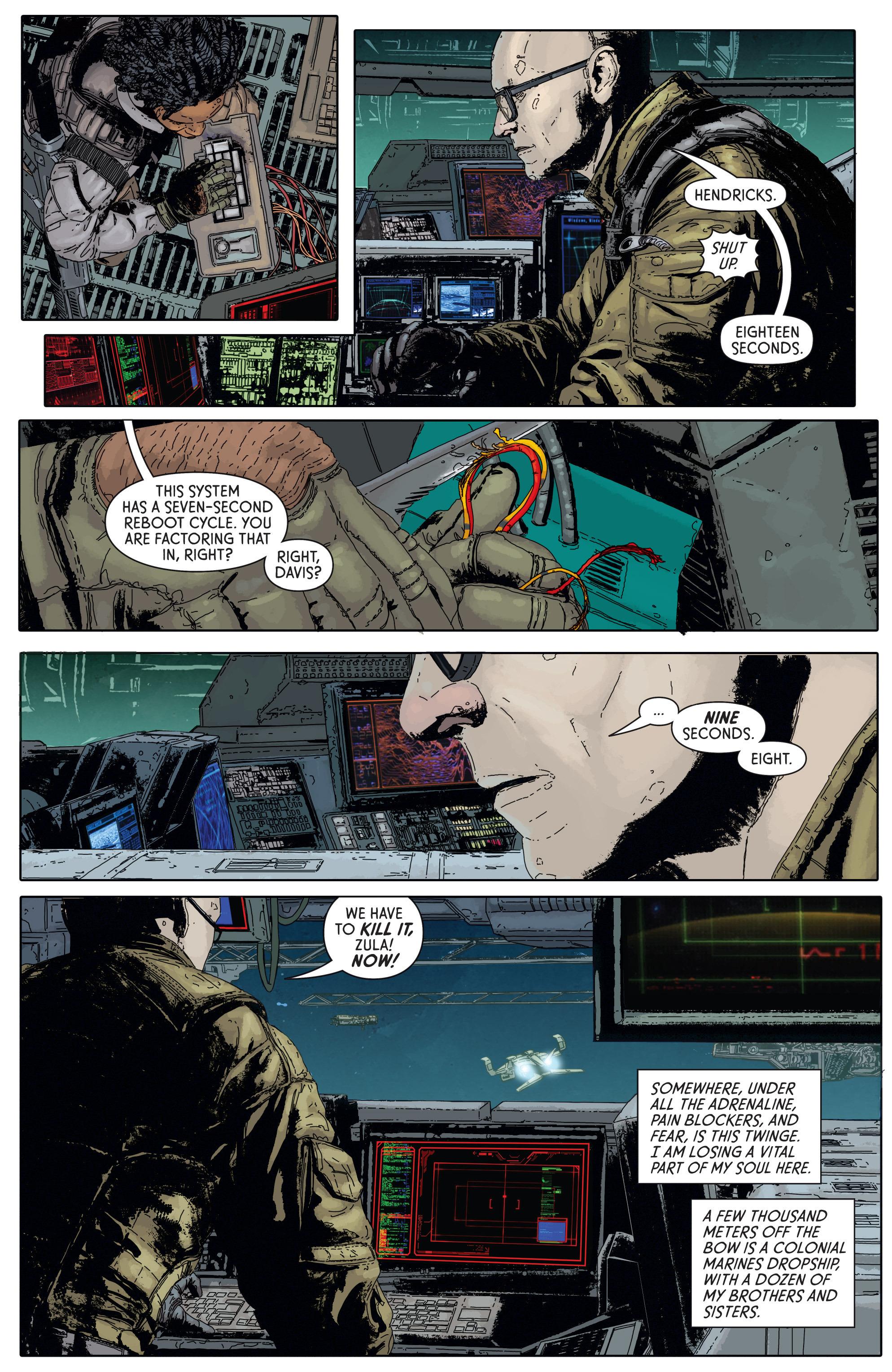 Read online Aliens: Defiance comic -  Issue #5 - 5