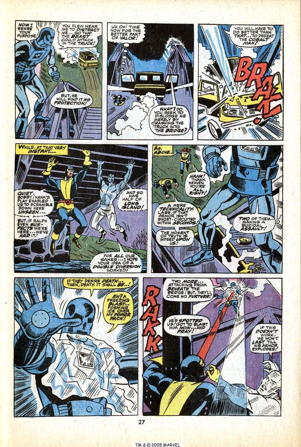 Uncanny X-Men (1963) 79 Page 28
