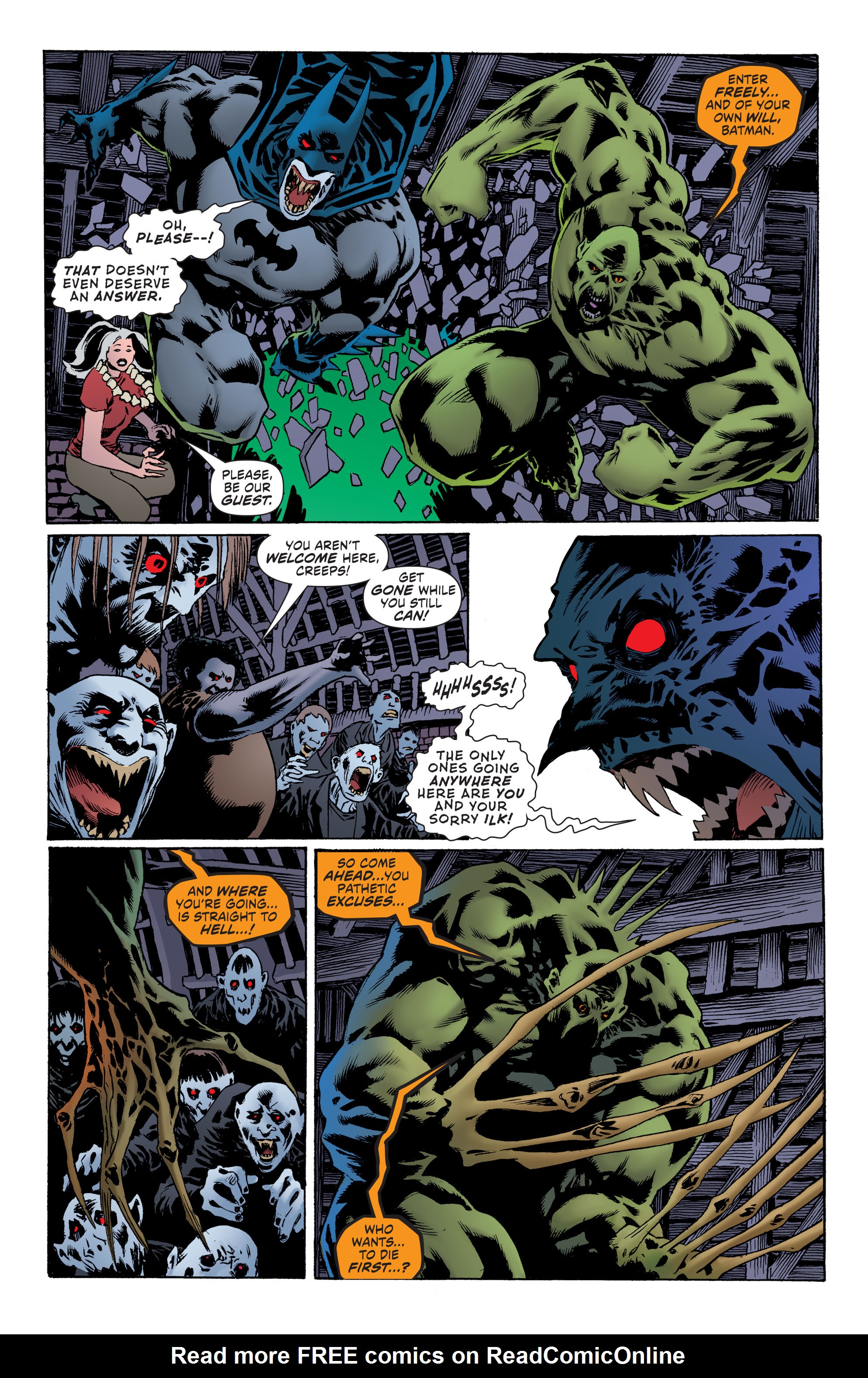 Read online Convergence Swamp Thing comic -  Issue #2 - 11