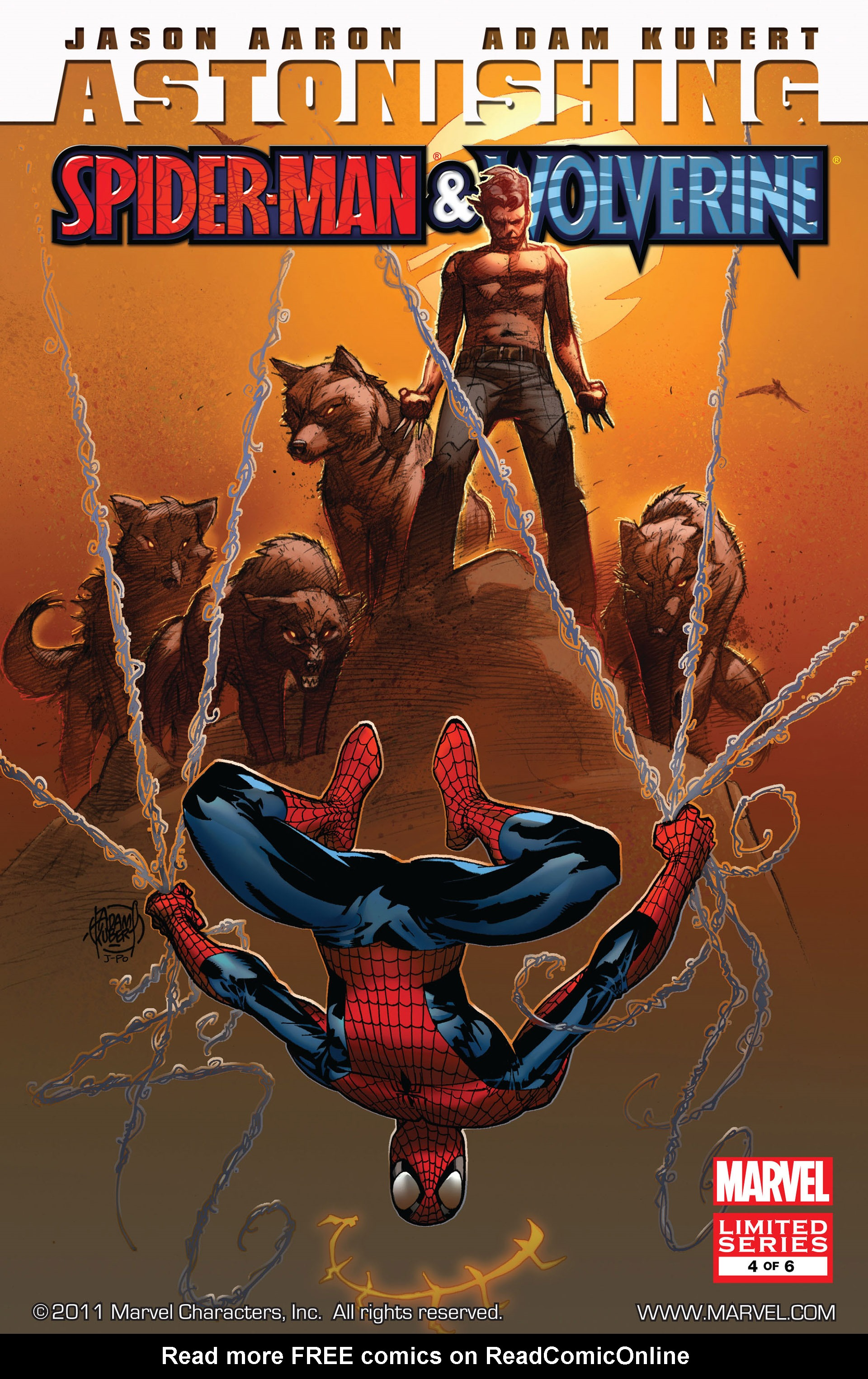 Read online Astonishing Spider-Man & Wolverine comic -  Issue #4 - 1