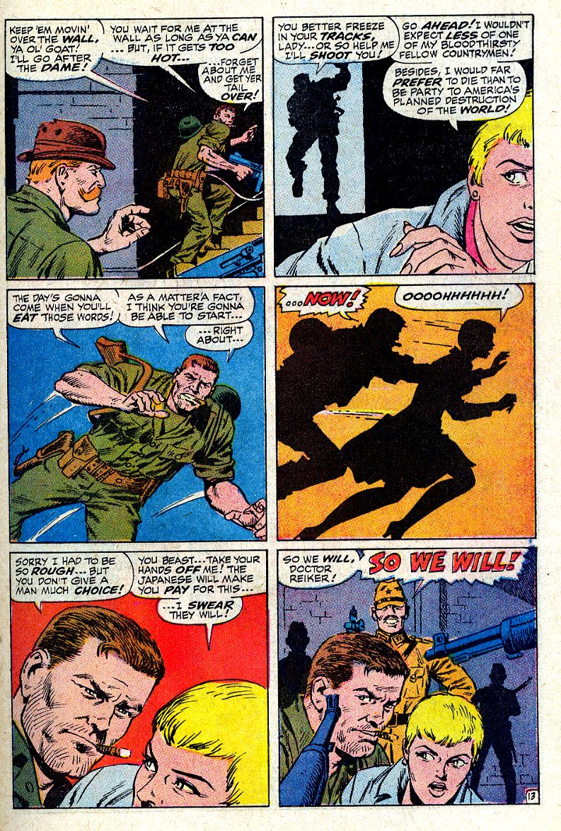 Read online Sgt. Fury comic -  Issue #64 - 19