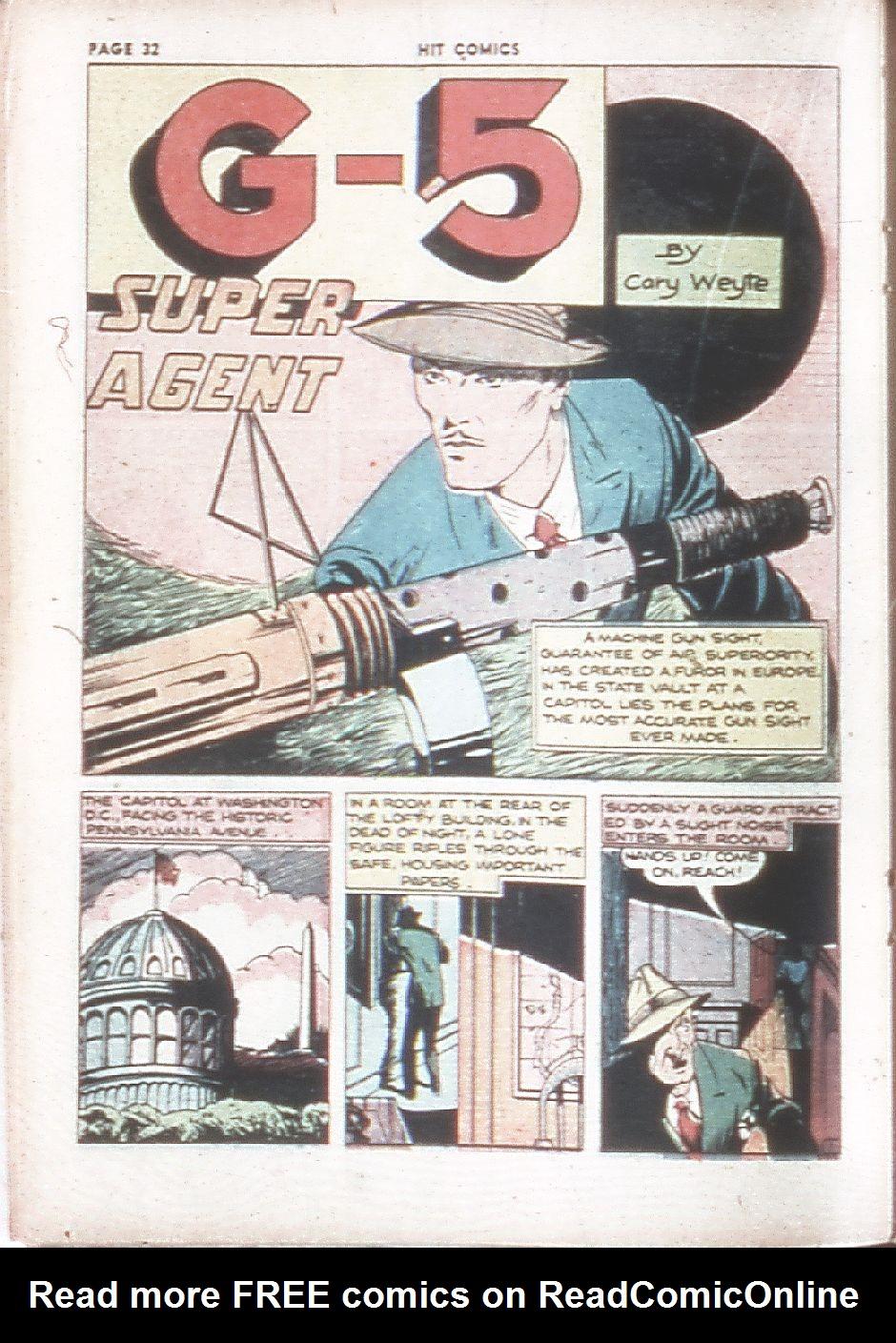 Read online Hit Comics comic -  Issue #7 - 34