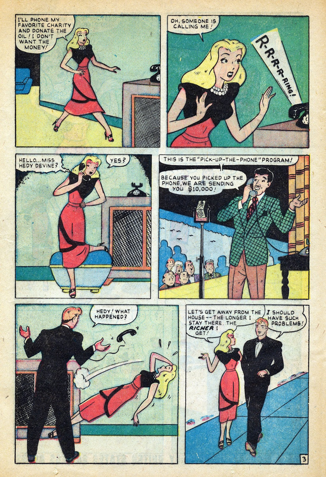 Read online Nellie The Nurse (1945) comic -  Issue #20 - 21