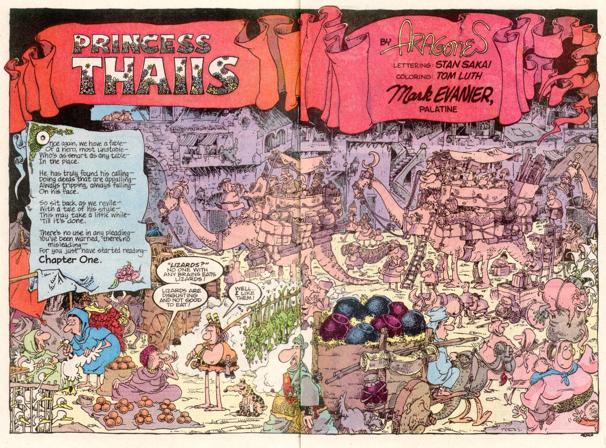Read online Sergio Aragonés Groo the Wanderer comic -  Issue #80 - 3