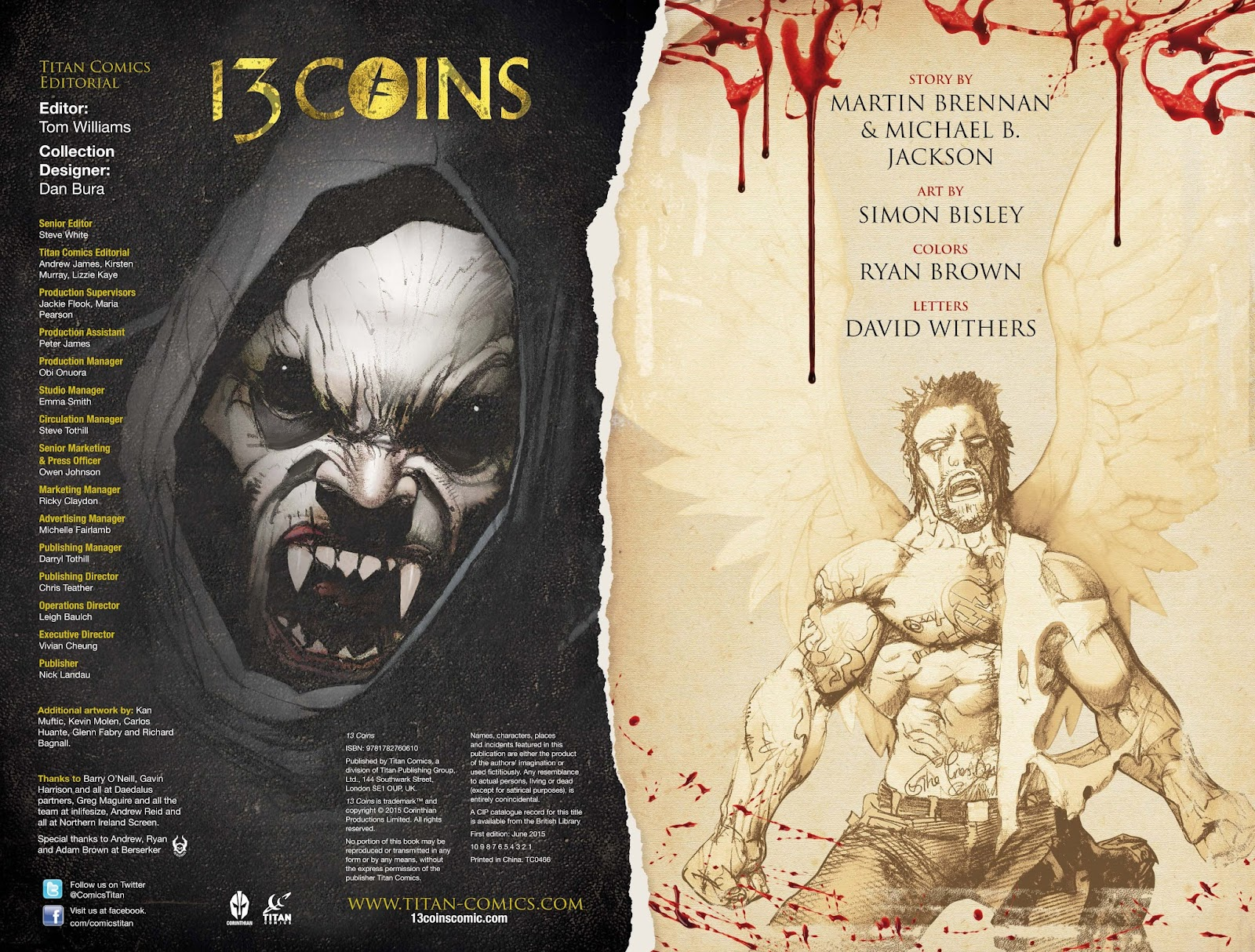 13 Coins issue TPB - Page 3
