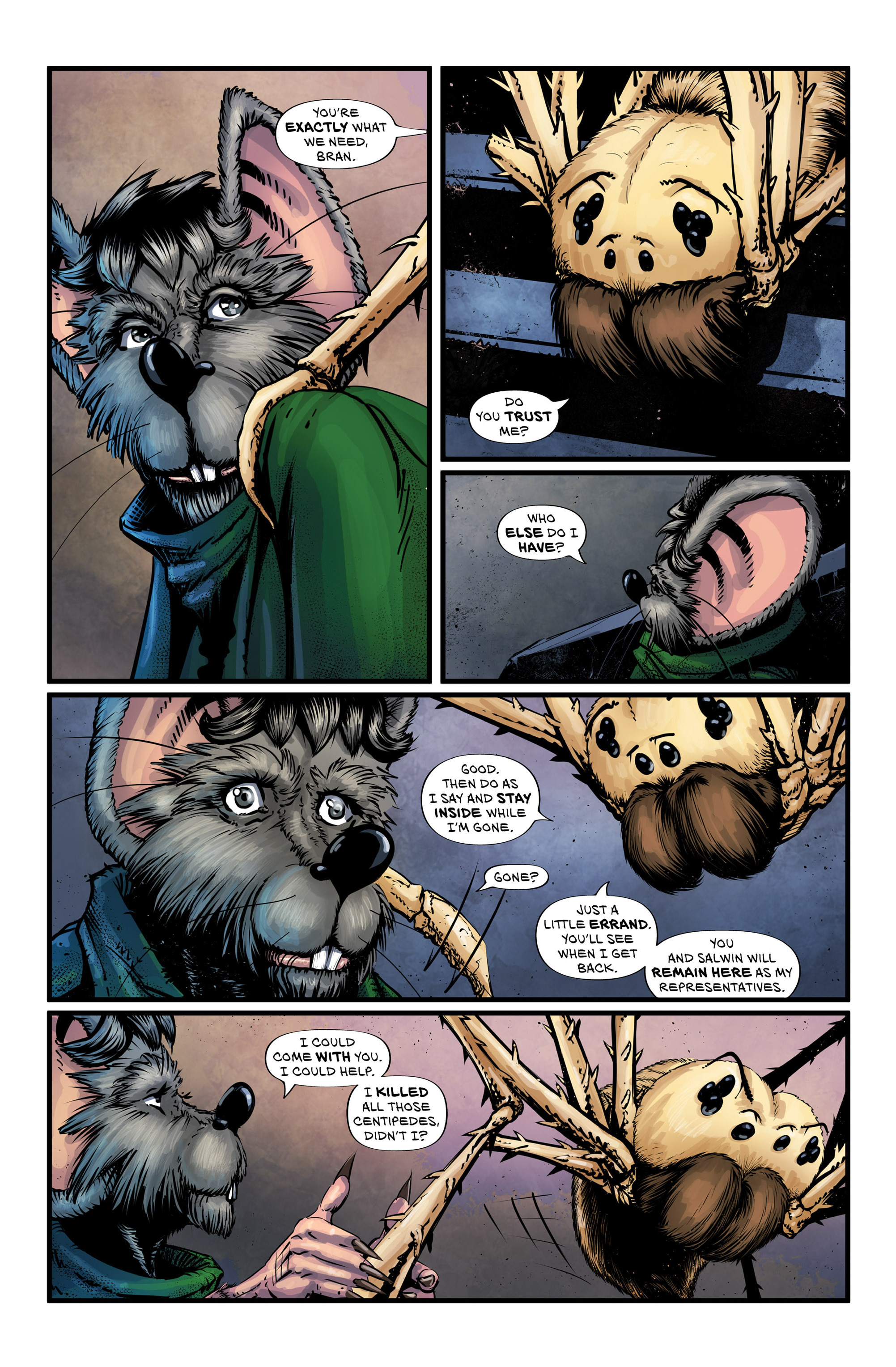 Read online Wretched Things comic -  Issue #3 - 13