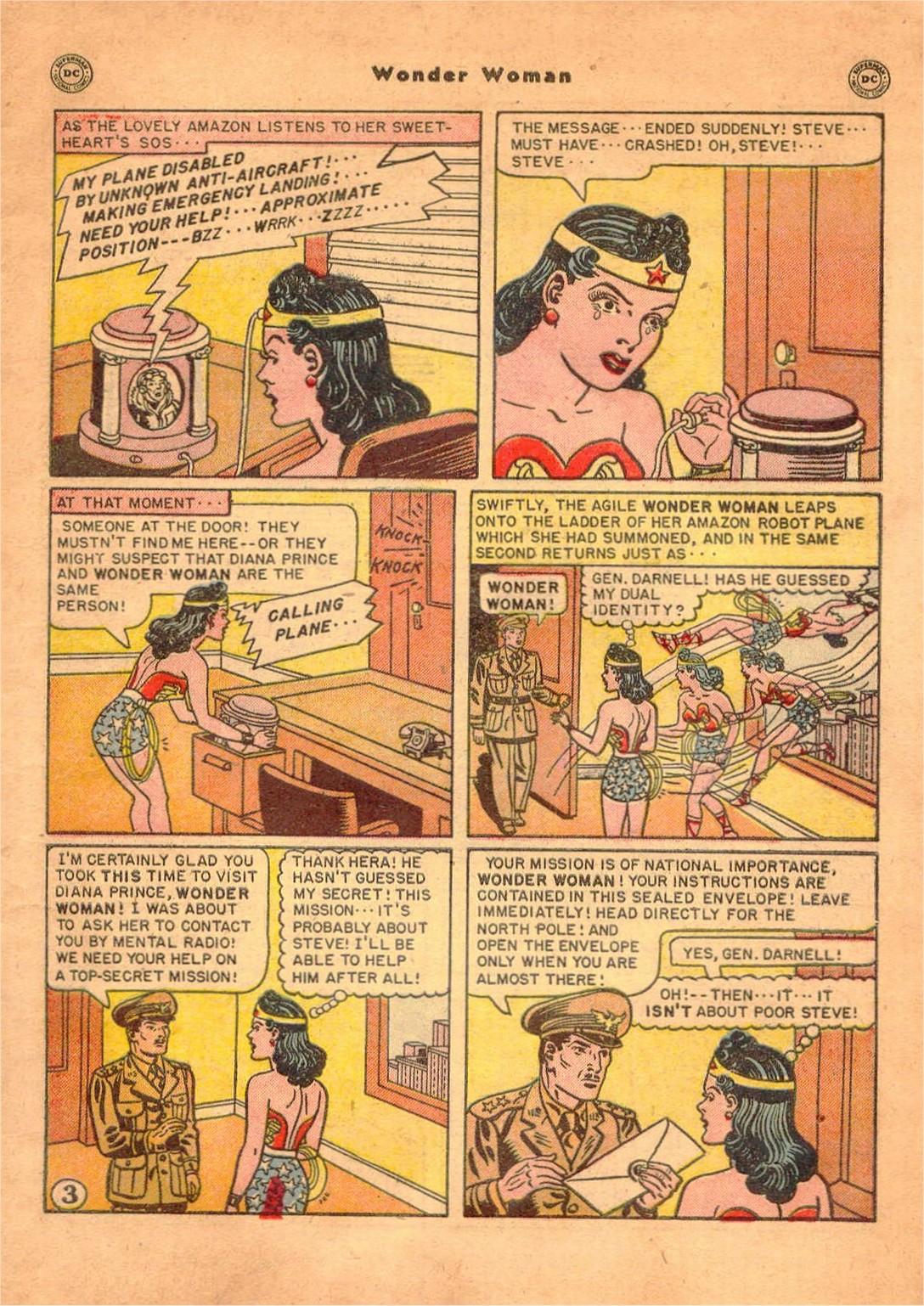 Read online Wonder Woman (1942) comic -  Issue #47 - 4