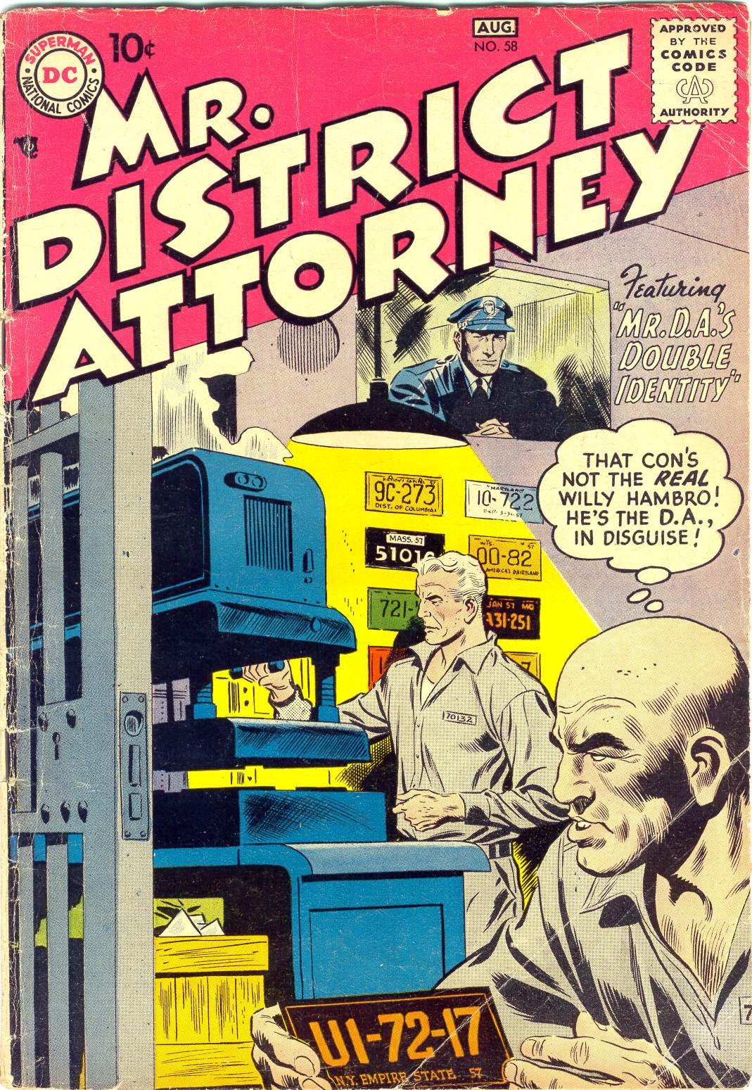 Mr. District Attorney issue 58 - Page 1