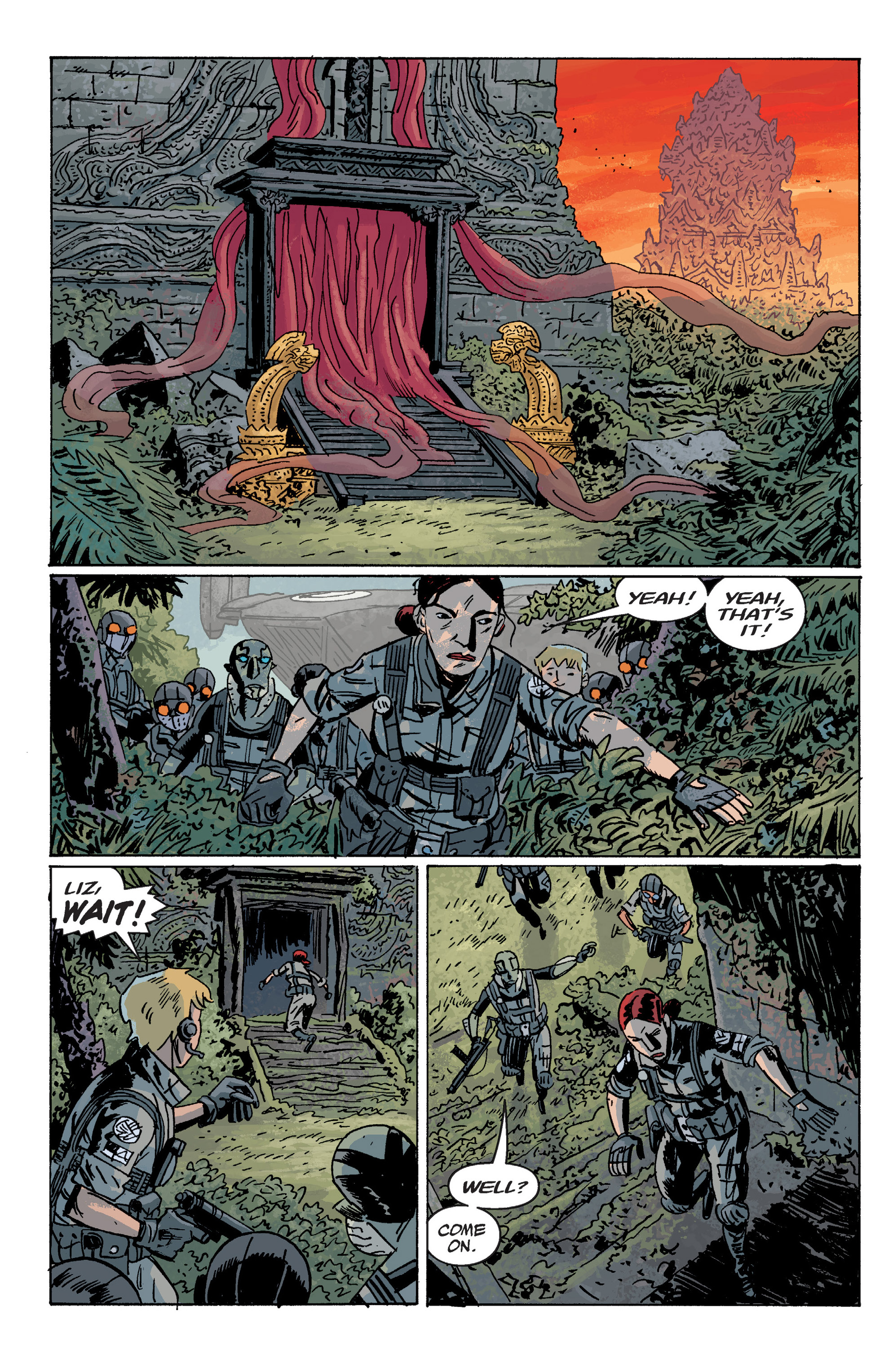 Read online B.P.R.D. (2003) comic -  Issue # TPB 10 - 52