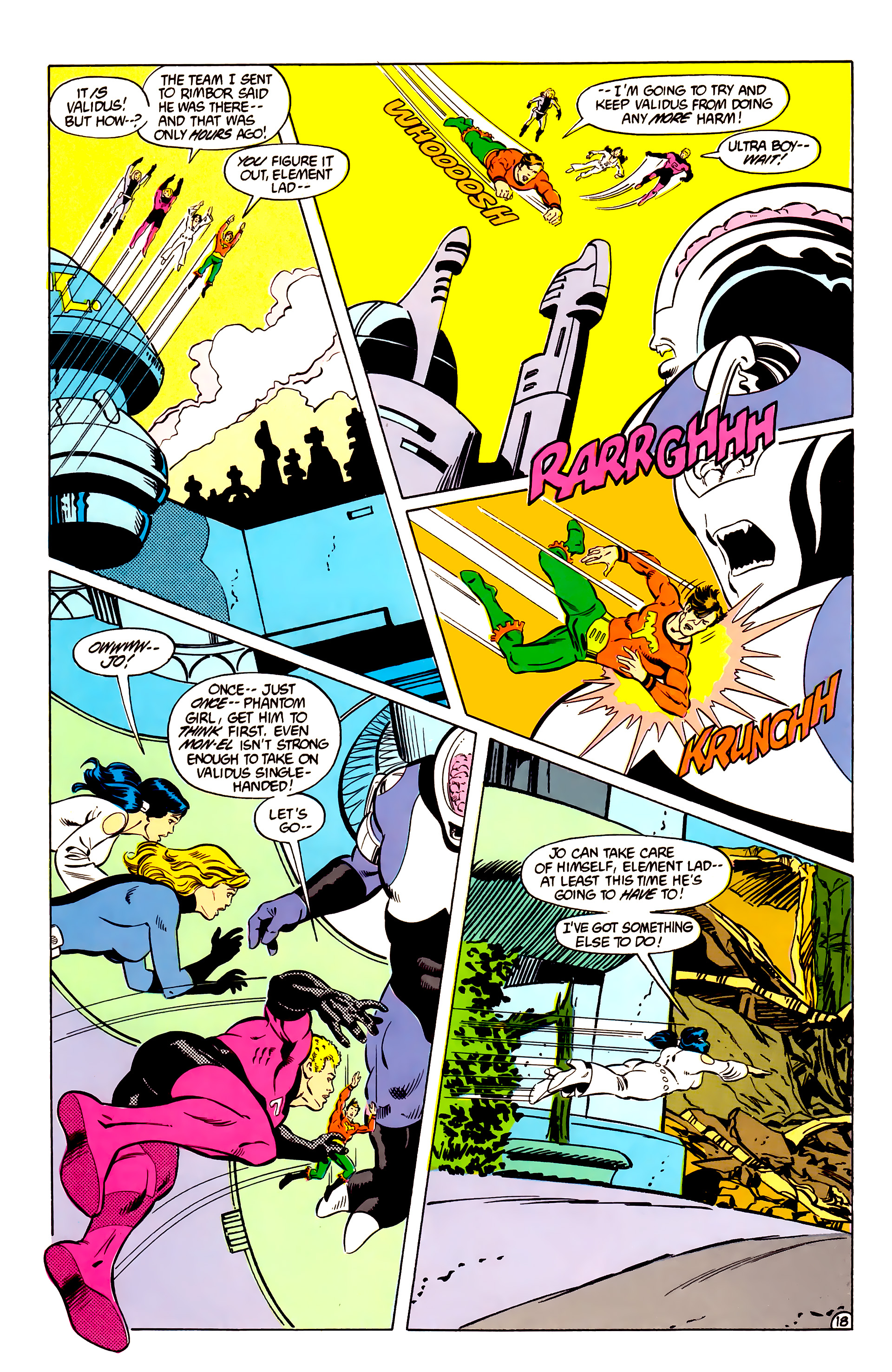 Legion of Super-Heroes (1984) _Annual_2 Page 19
