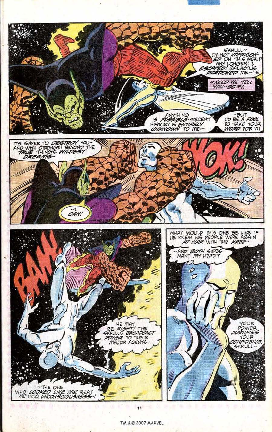 Read online Silver Surfer (1987) comic -  Issue # _Annual 1 - 13