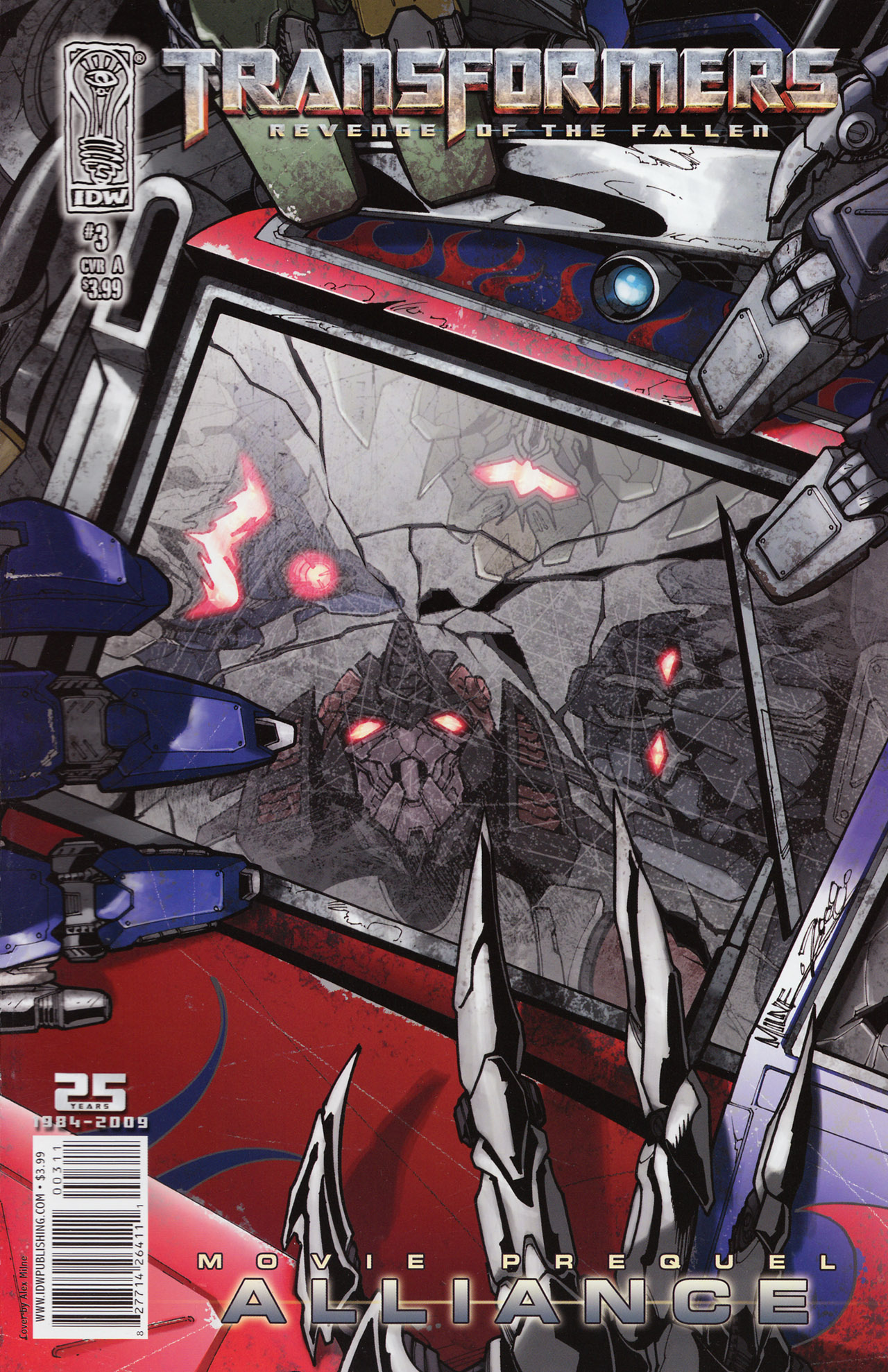 Read online Transformers: Alliance comic -  Issue #3 - 1