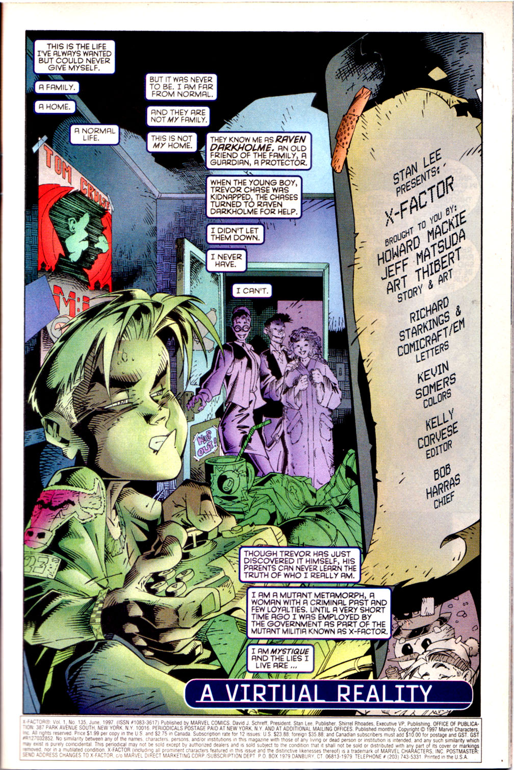 Read online X-Factor (1986) comic -  Issue #135 - 2
