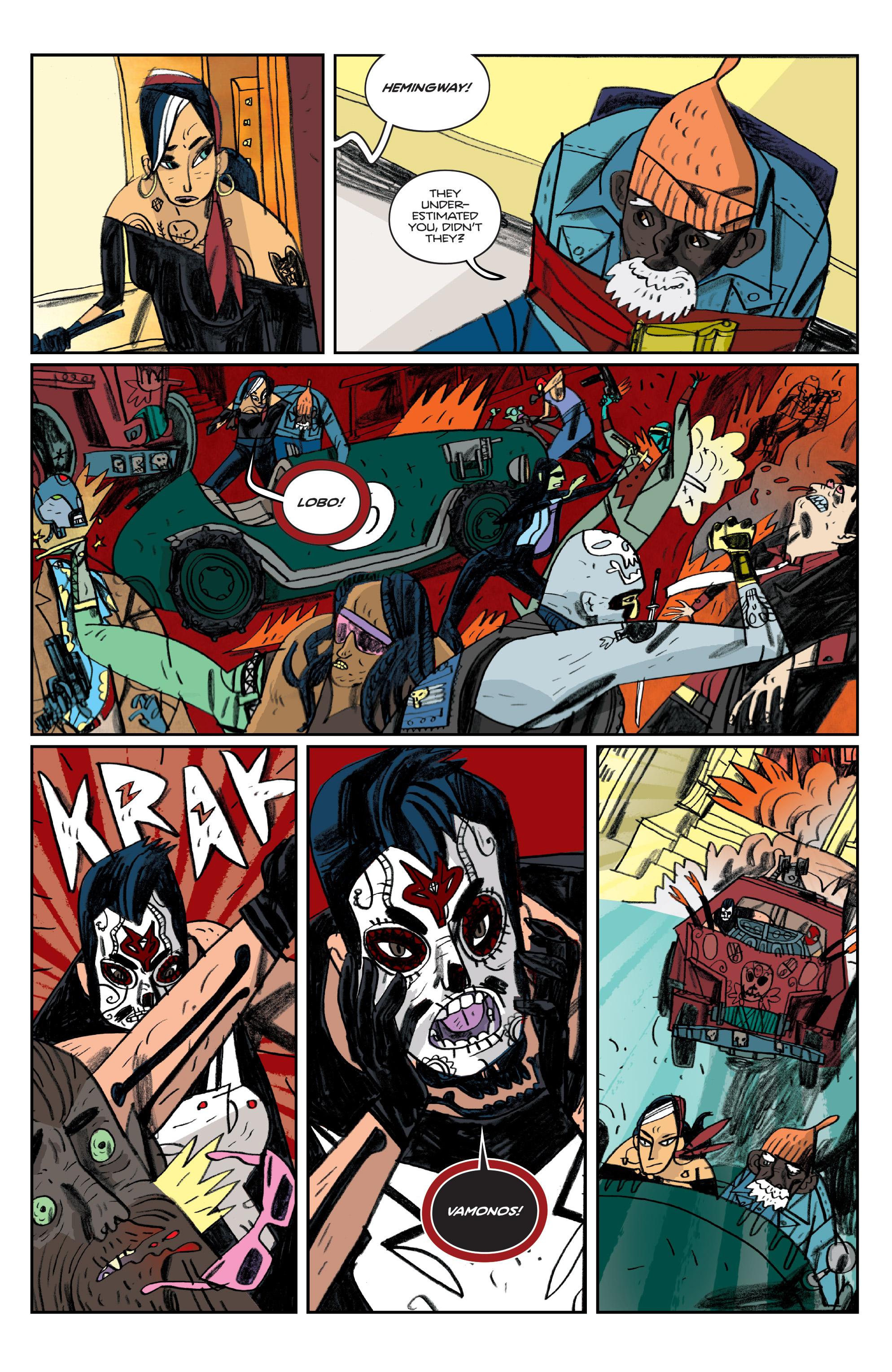 Read online Helena Crash comic -  Issue #4 - 21