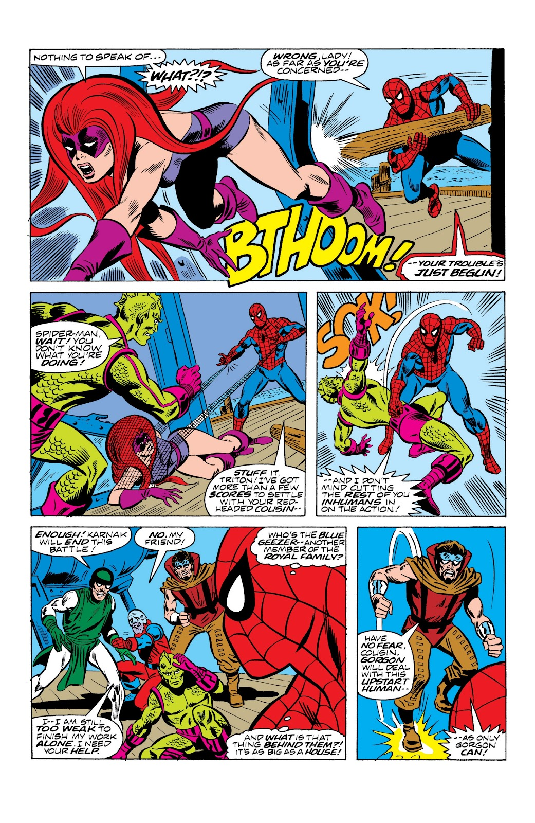 Read online Marvel Masterworks: The Spectacular Spider-Man comic -  Issue # TPB (Part 2) - 88