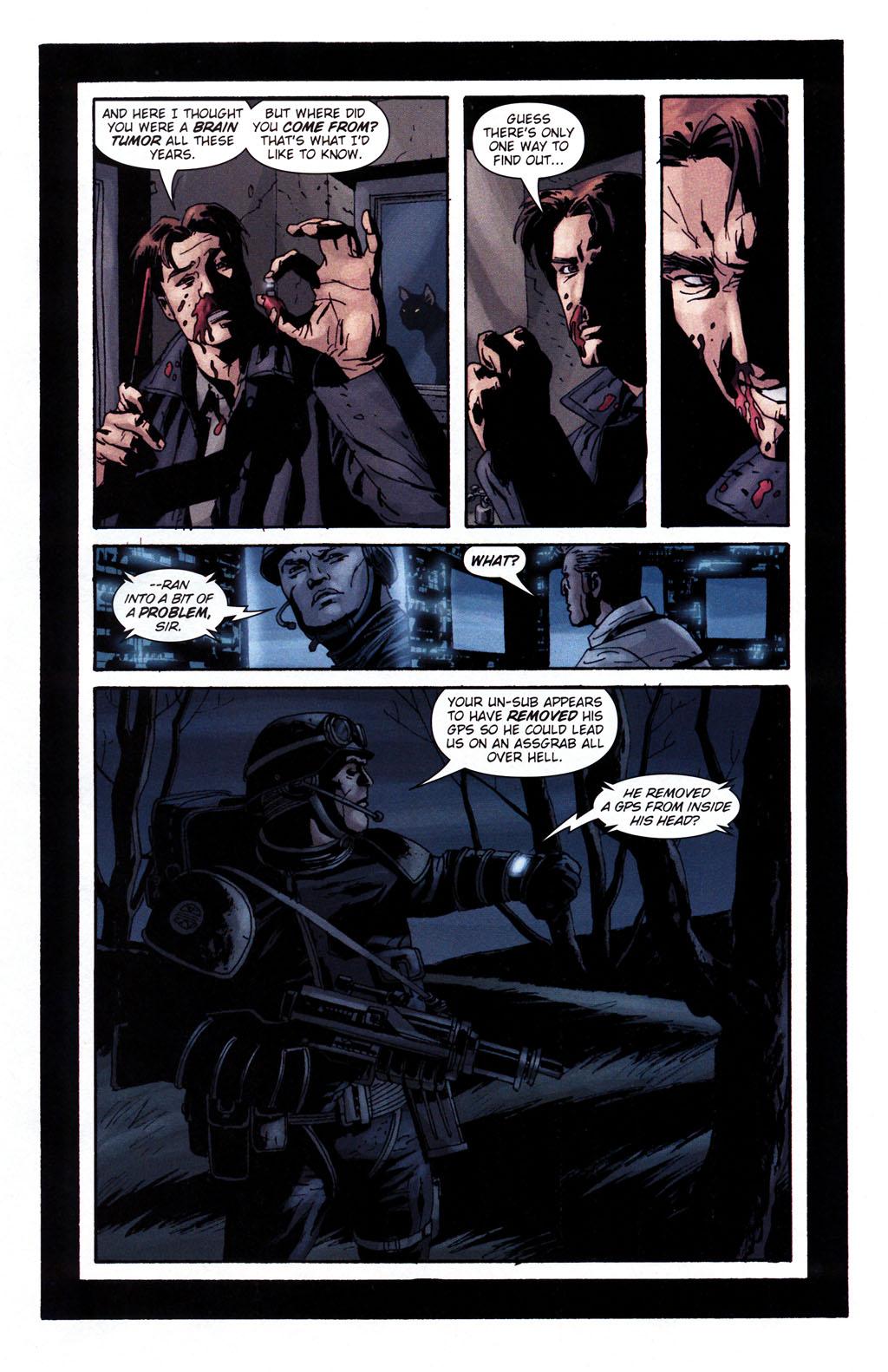 Read online Sleeper: Season Two comic -  Issue #5 - 4