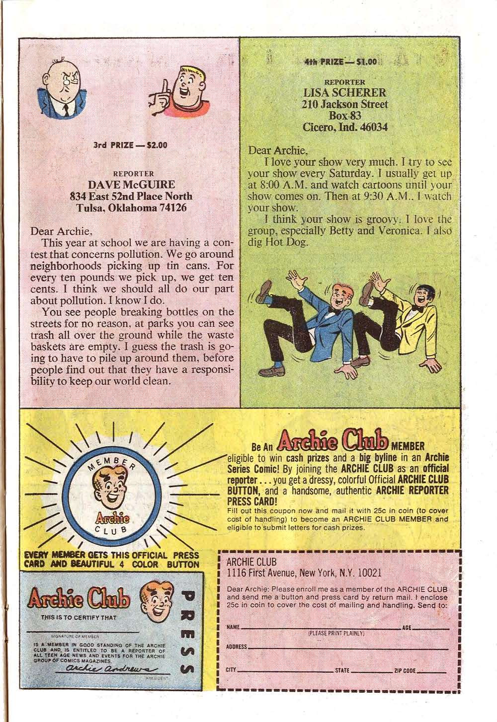 Read online Archie (1960) comic -  Issue #219 - 23