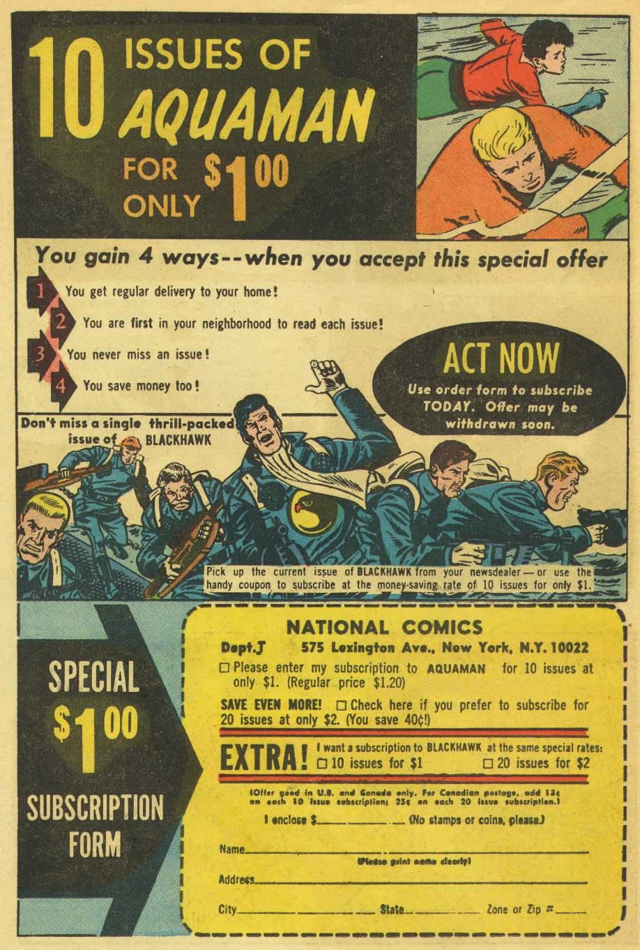 Aquaman (1962) Issue #21 #21 - English 34