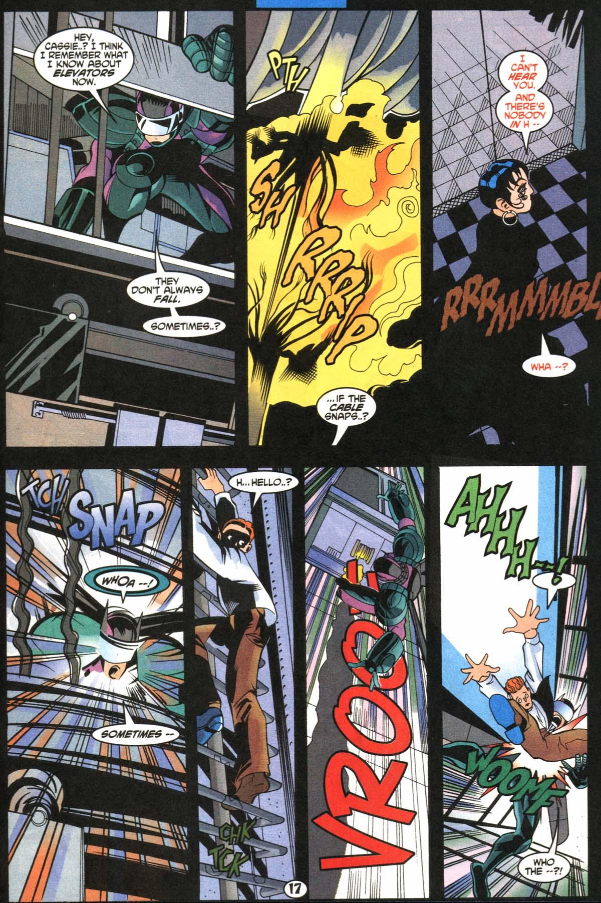 Read online Slingers comic -  Issue #5 - 18