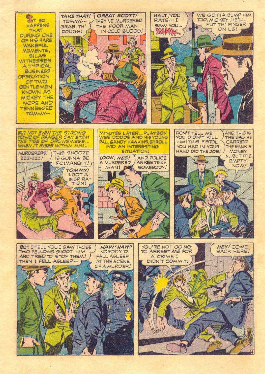 Read online Adventure Comics (1938) comic -  Issue #87 - 6