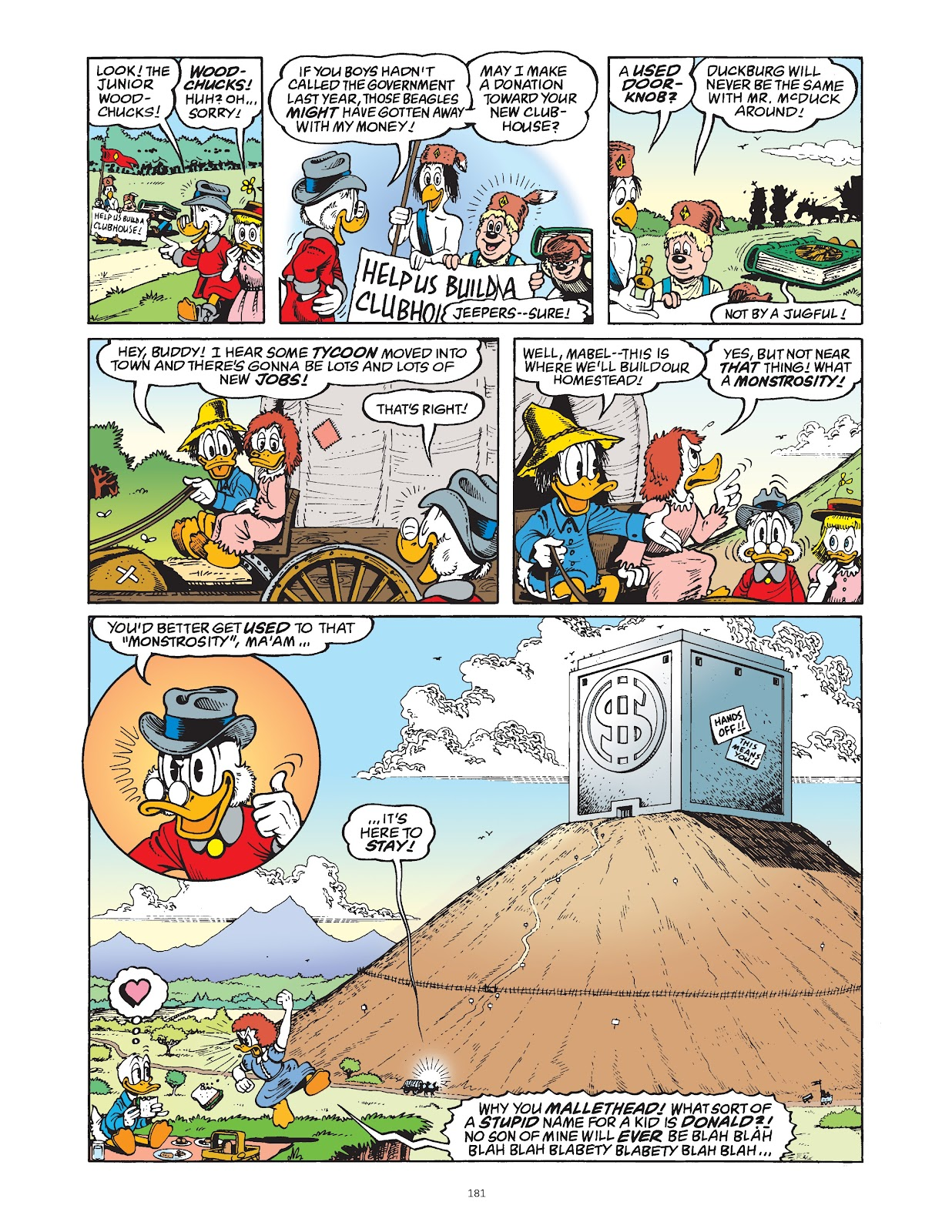 Read online The Complete Life and Times of Scrooge McDuck comic -  Issue # TPB 1 (Part 2) - 77