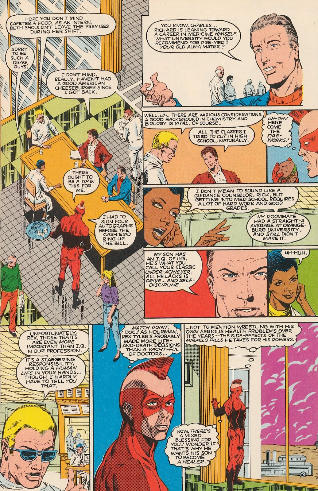 Infinity Inc. (1984) issue 20 - Page 15