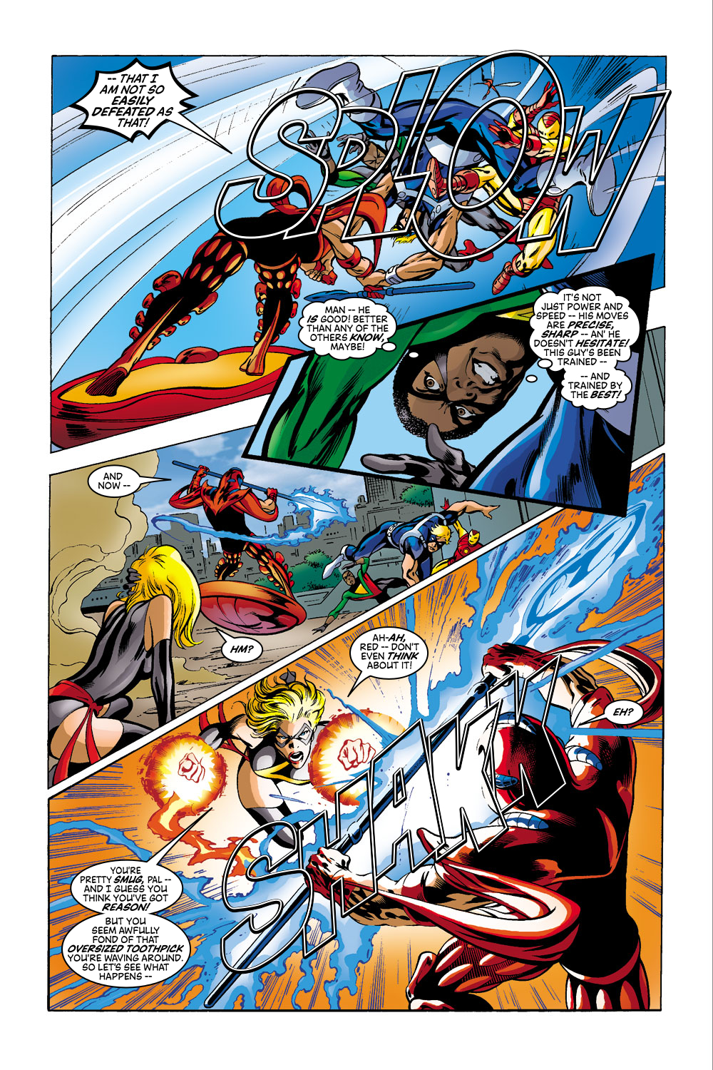 Read online Avengers (1998) comic -  Issue #41 - 16