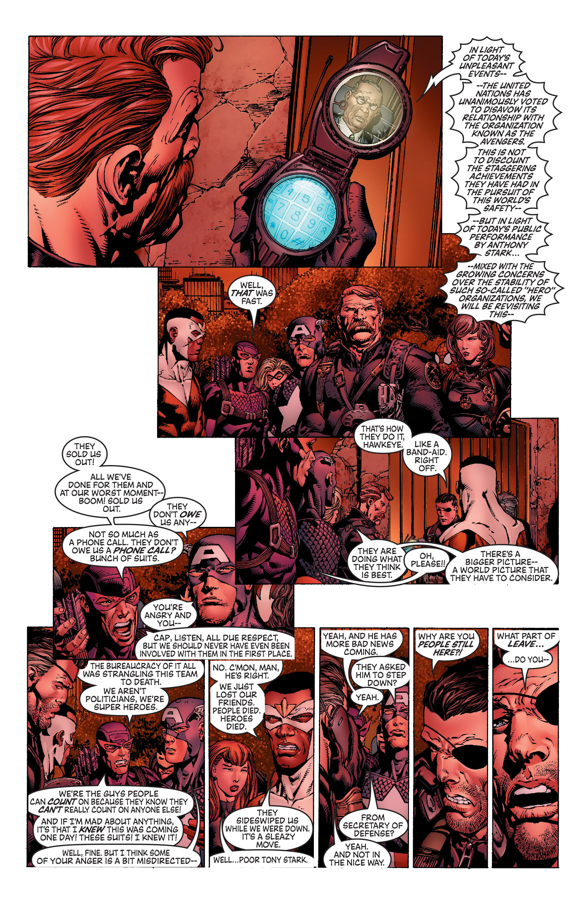 Read online Avengers (1998) comic -  Issue #502 - 5