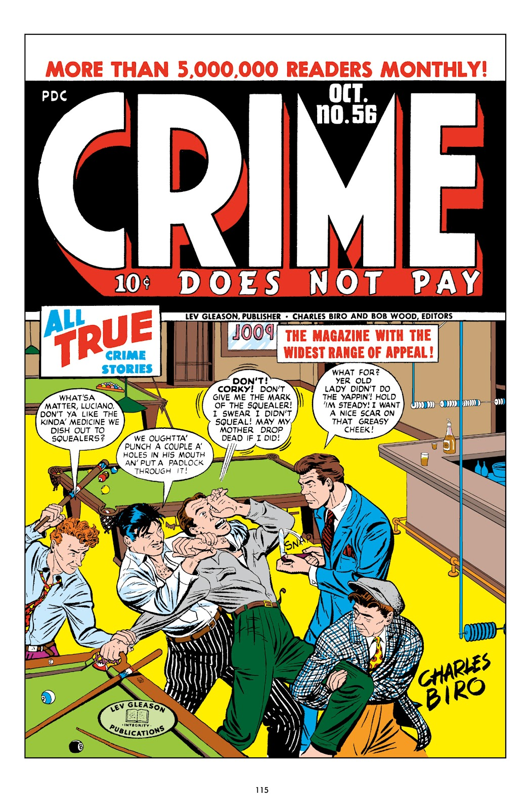 Read online Crime Does Not Pay Archives comic -  Issue # TPB 9 (Part 2) - 17
