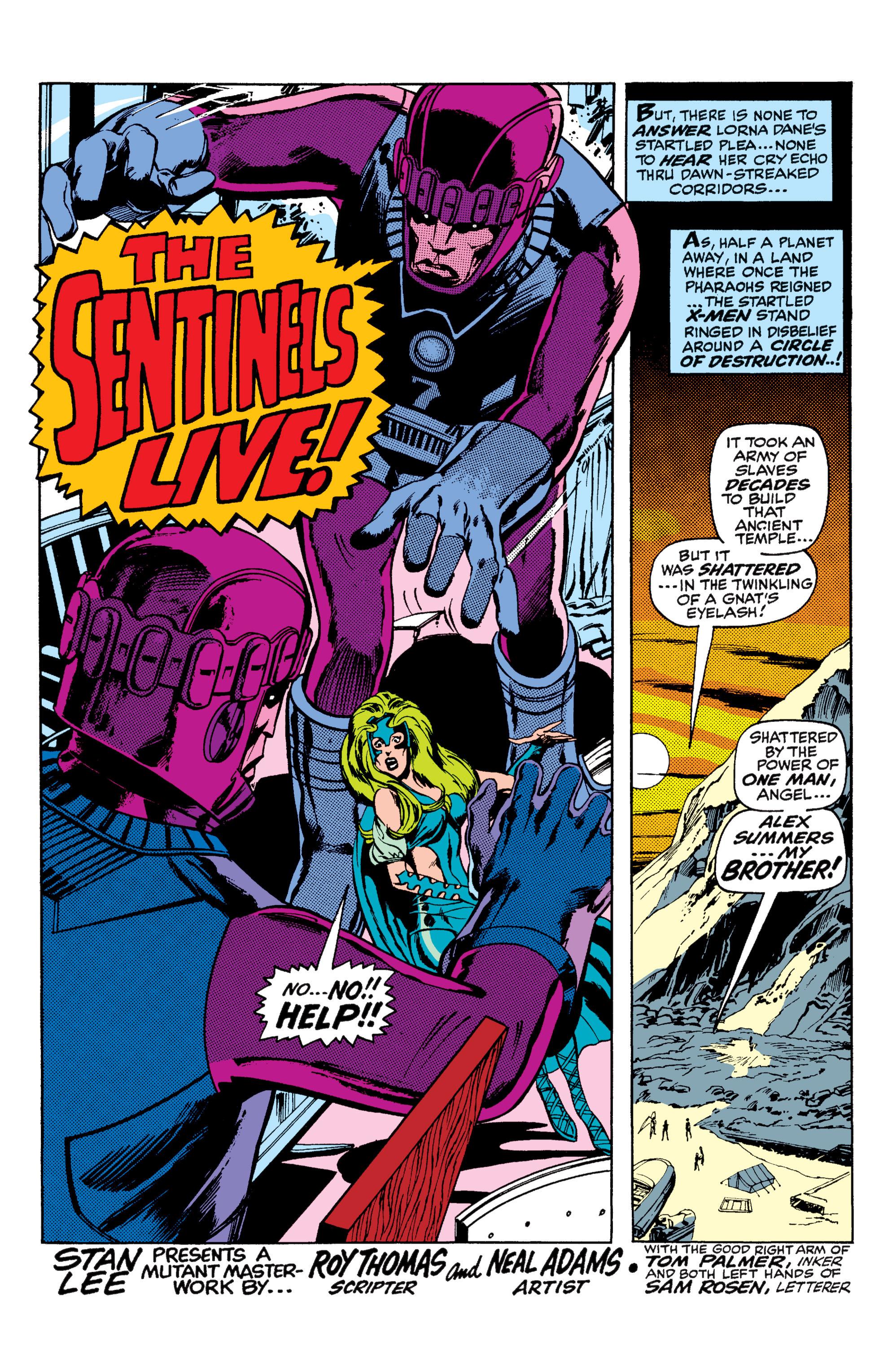 Uncanny X-Men (1963) 57 Page 2