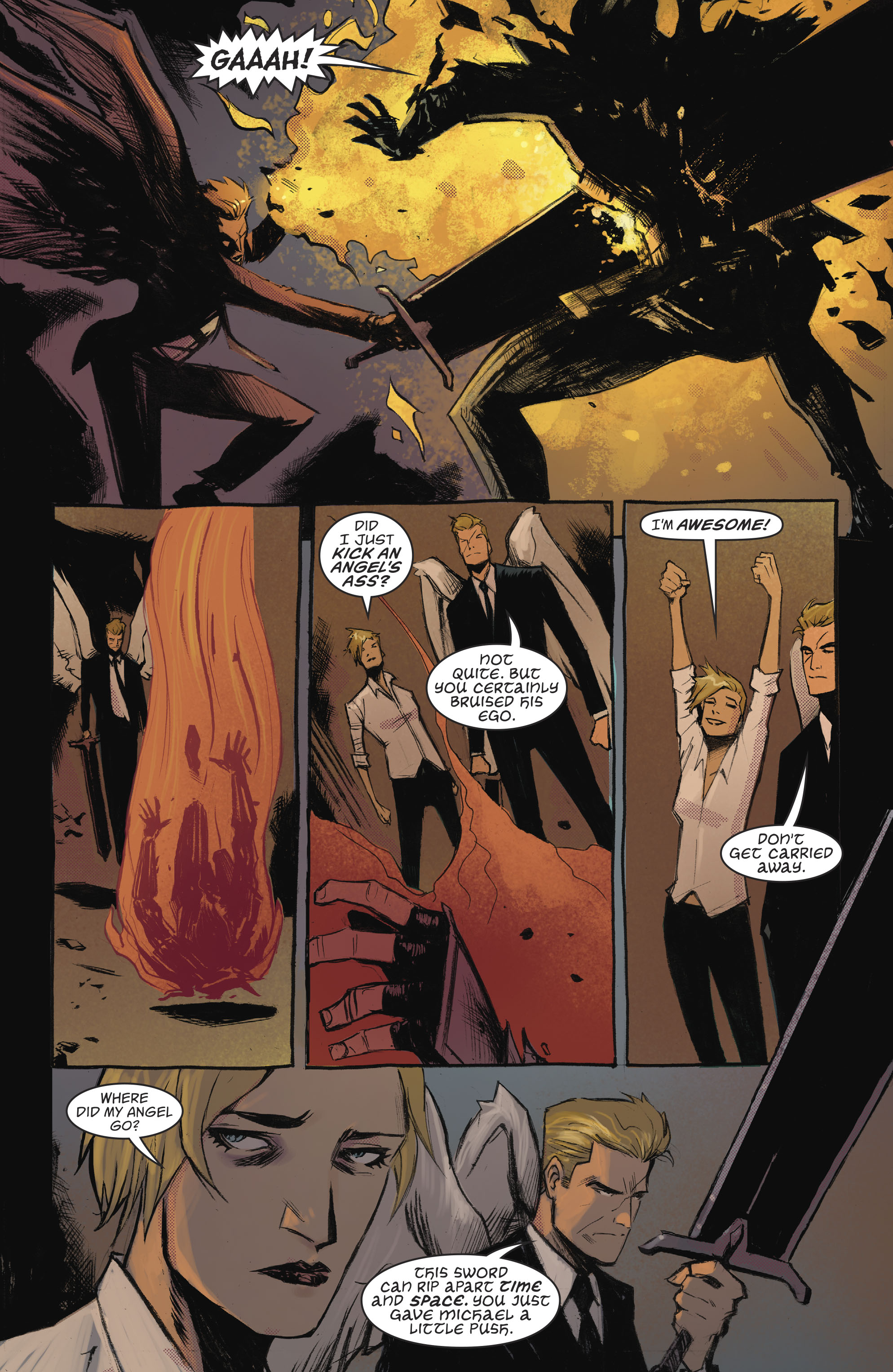 Read online Lucifer (2016) comic -  Issue #18 - 8