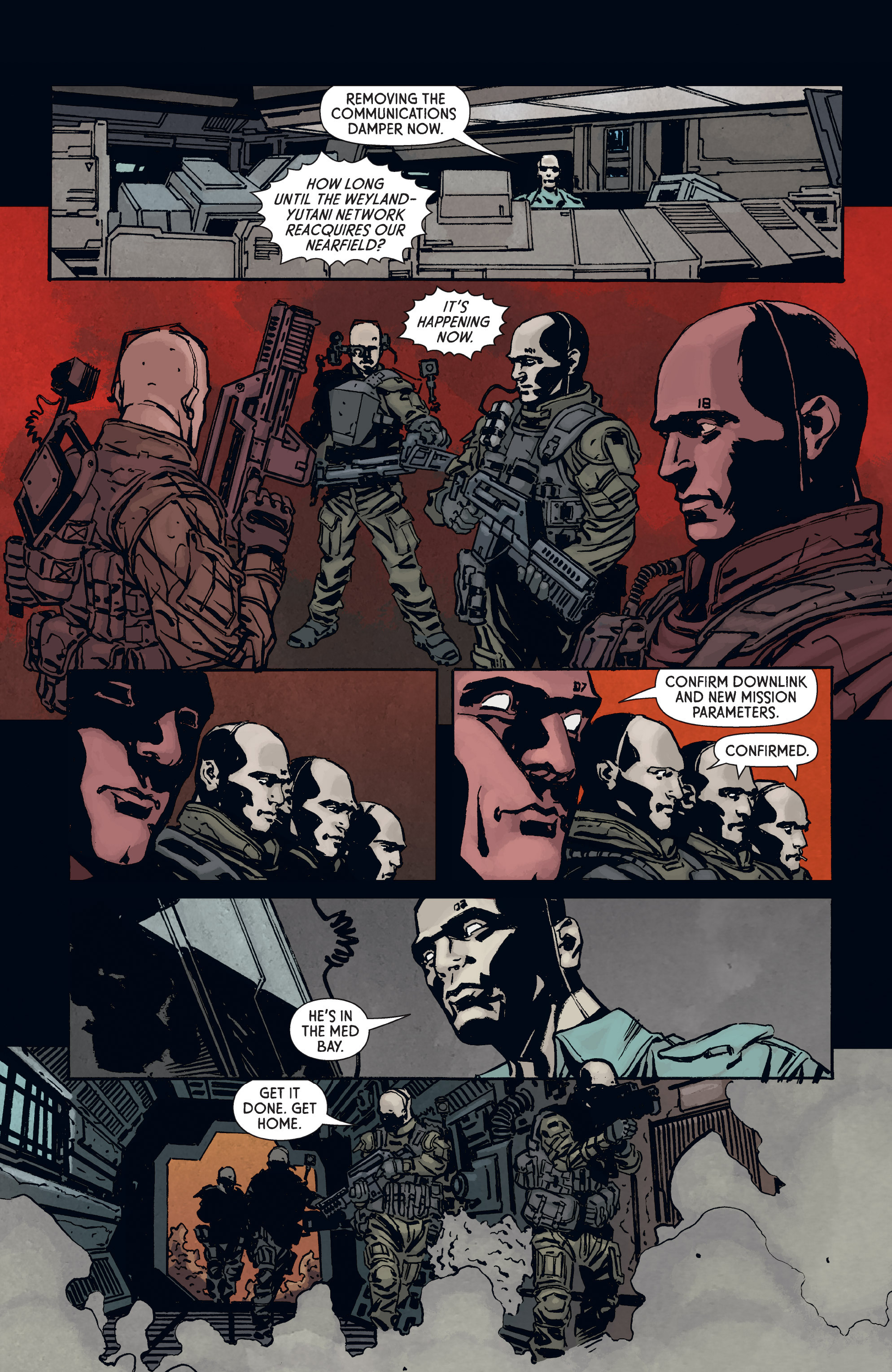 Read online Aliens: Defiance comic -  Issue #3 - 6