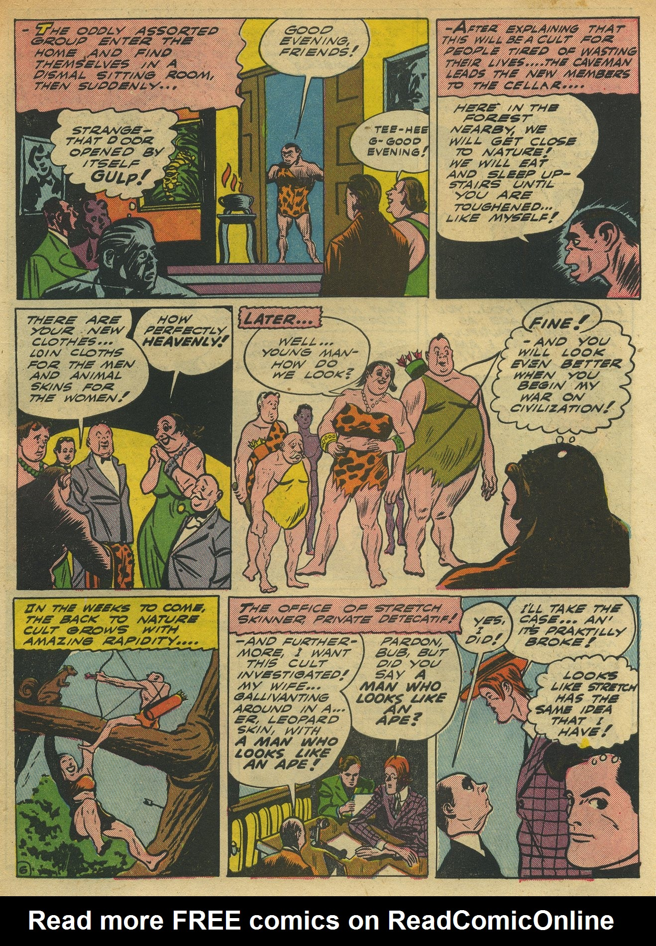 Read online Sensation (Mystery) Comics comic -  Issue #10 - 61