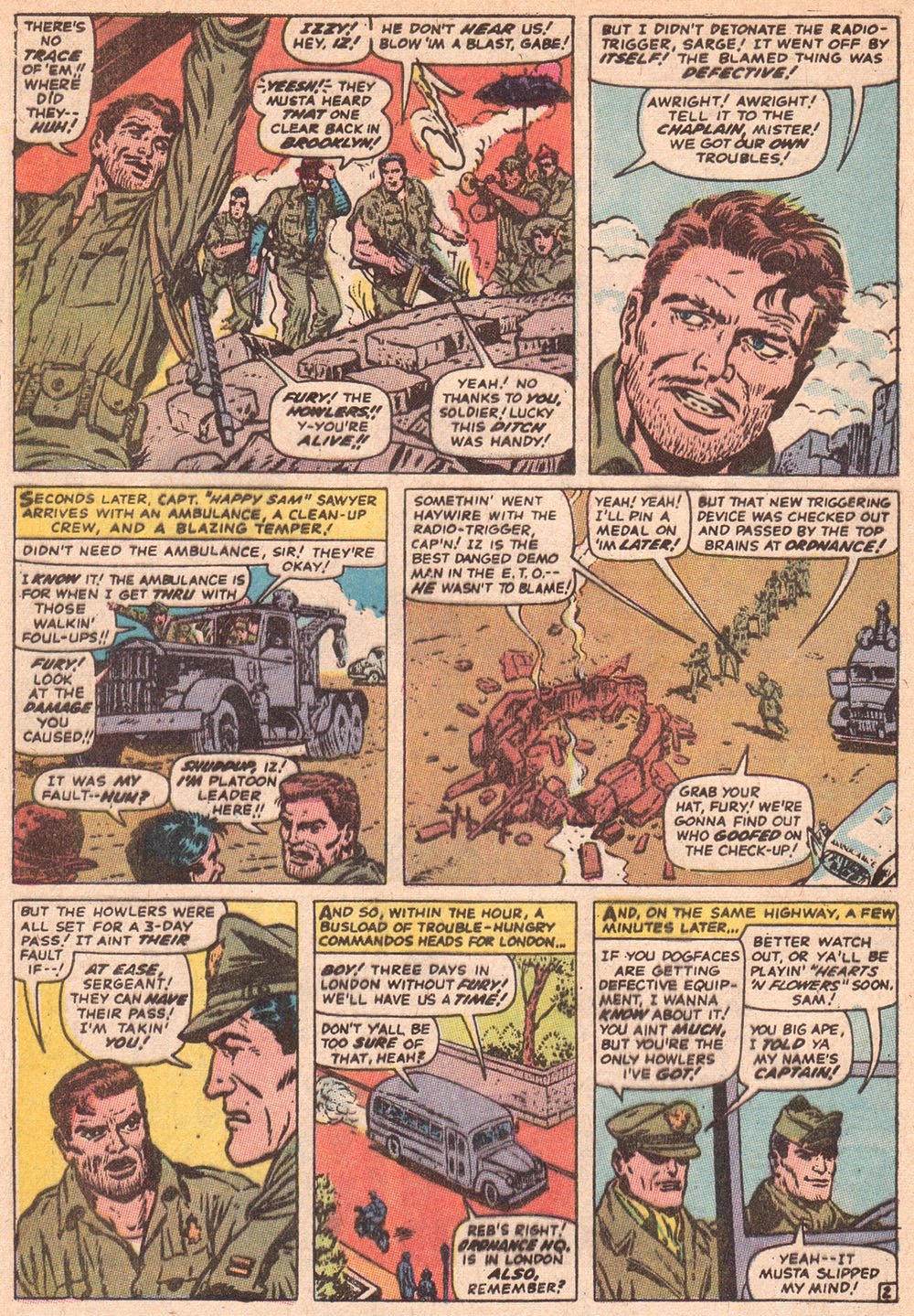 Read online Sgt. Fury comic -  Issue #80 - 4