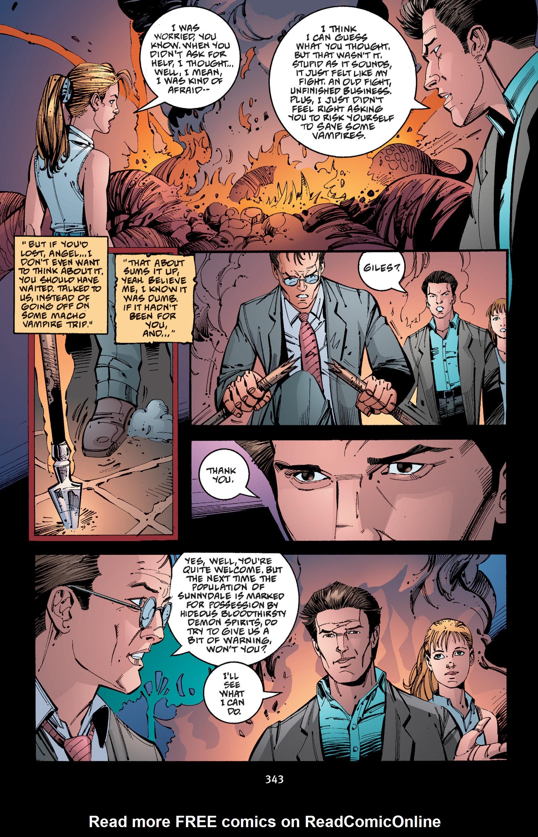 Read online Buffy the Vampire Slayer: Omnibus comic -  Issue # TPB 4 - 340
