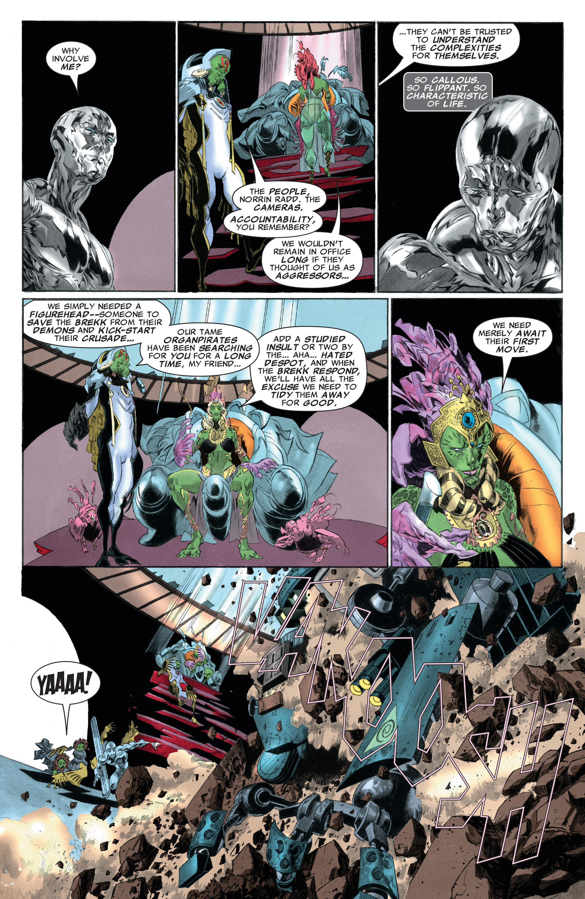 Read online Silver Surfer: In Thy Name comic -  Issue #3 - 19