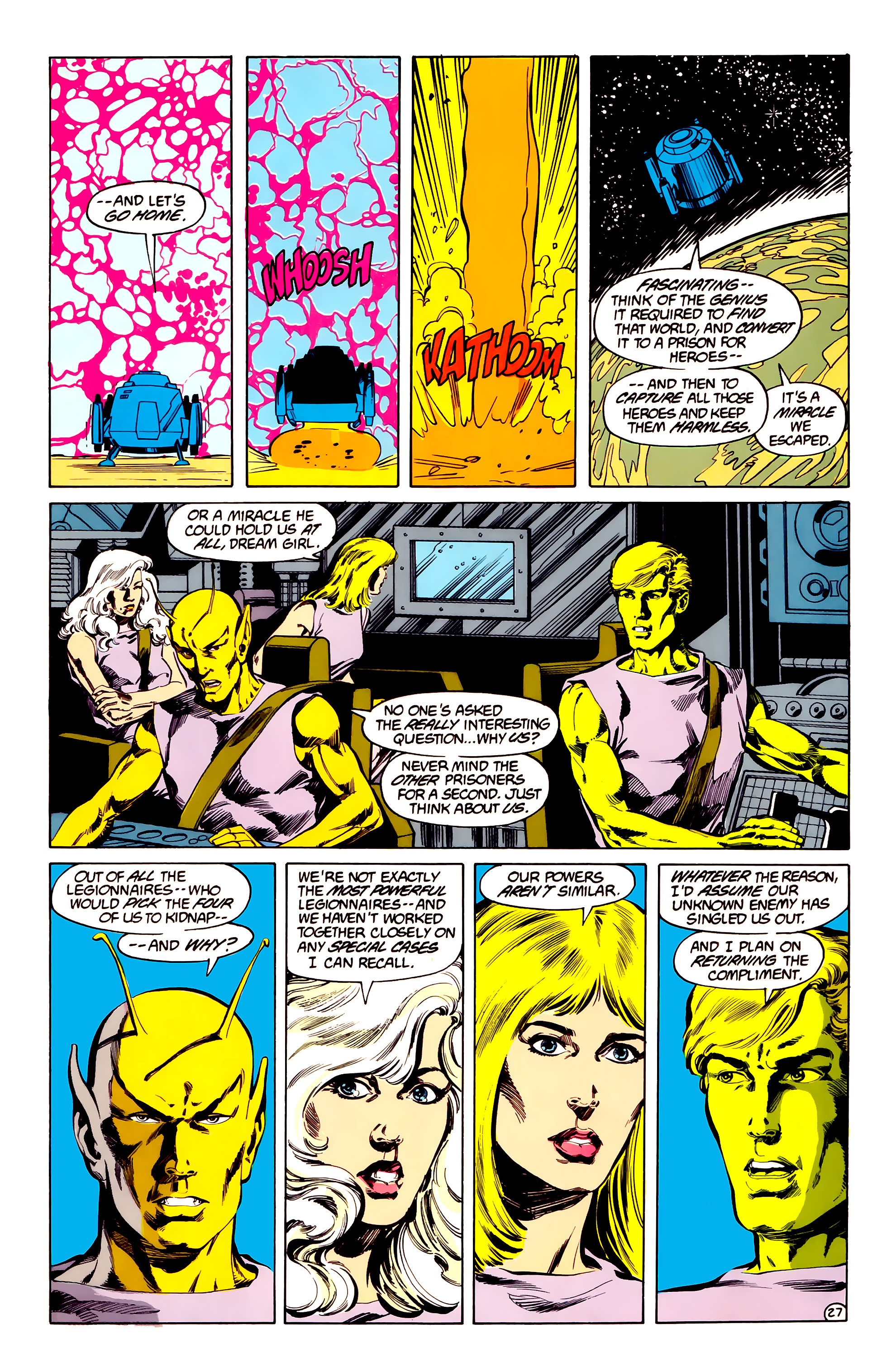 Legion of Super-Heroes (1984) 33 Page 27