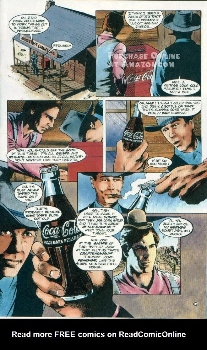 Read online Quantum Leap comic -  Issue #12 - 12
