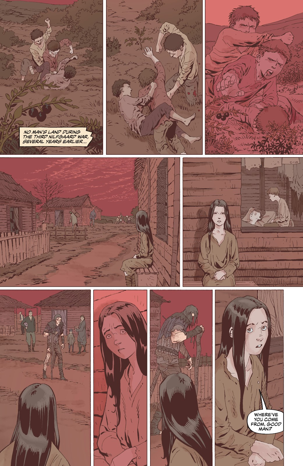 Read online The Witcher Omnibus comic -  Issue # TPB (Part 5) - 1